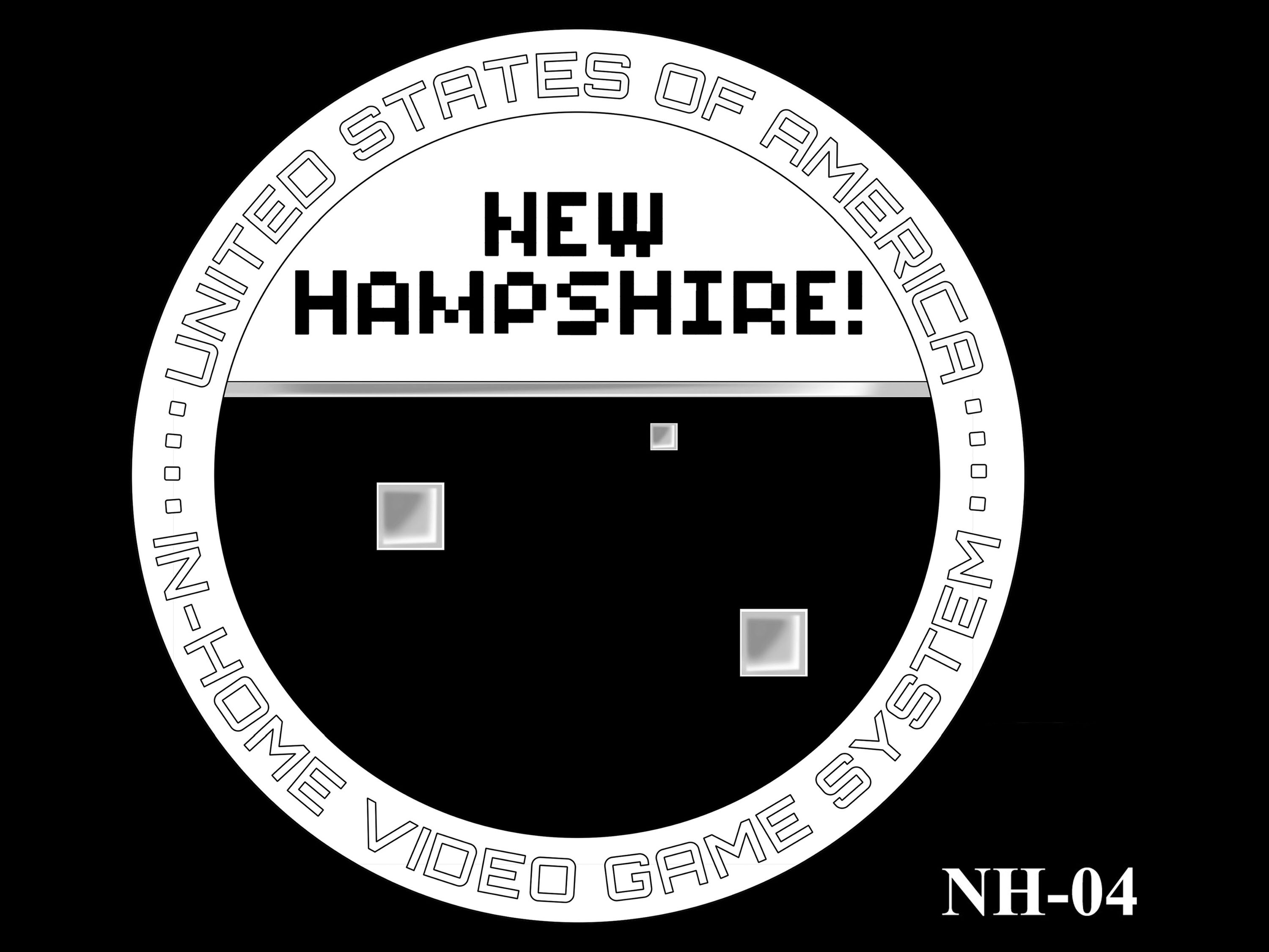 NH-04 -- 2021 American Innovation $1 Coin - New Hampshire
