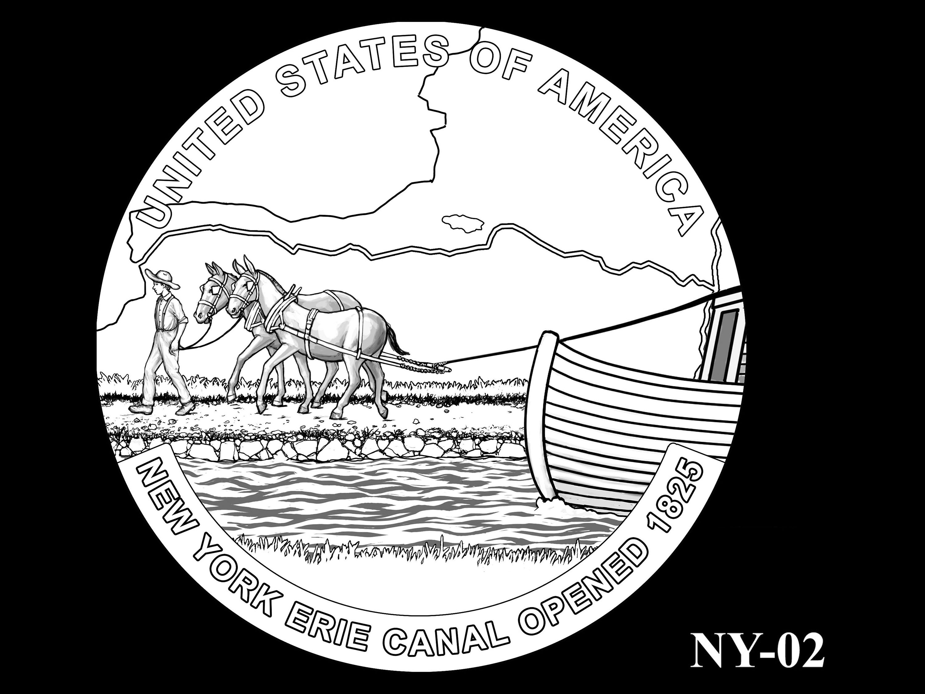 NY-02 -- 2021 American Innovation $1 Coin - New York