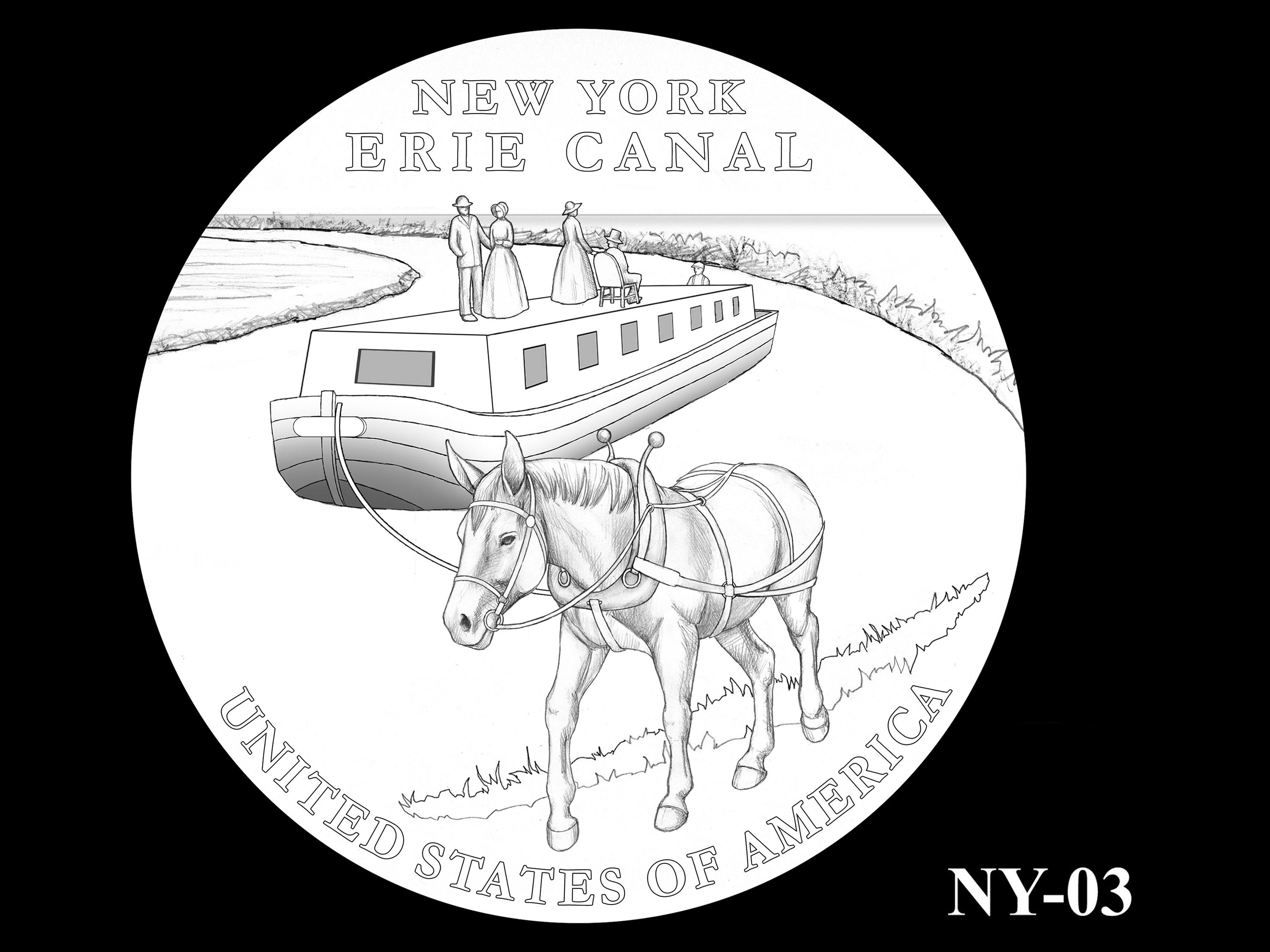 NY-03 -- 2021 American Innovation $1 Coin - New York