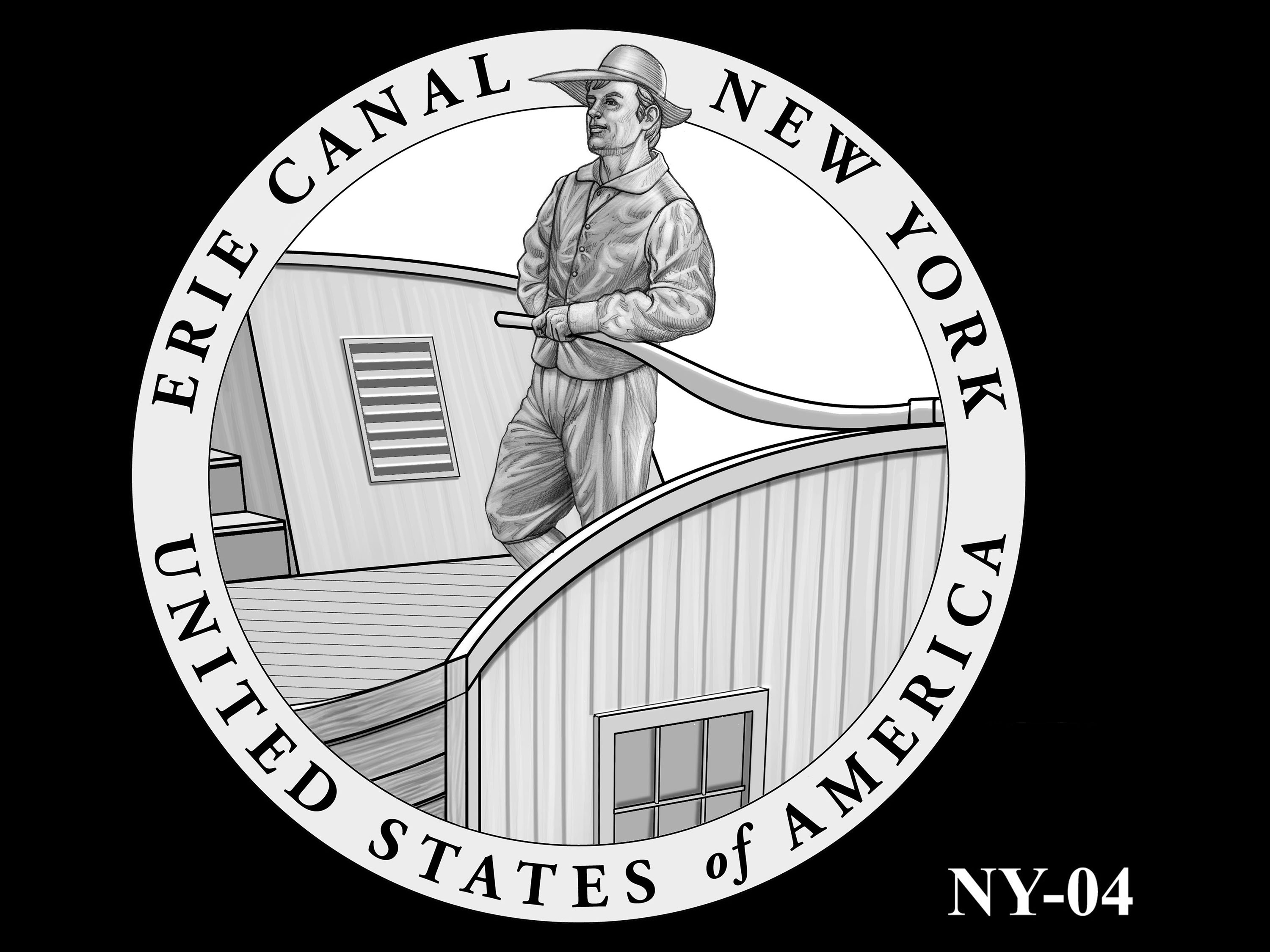 NY-04 -- 2021 American Innovation $1 Coin - New York