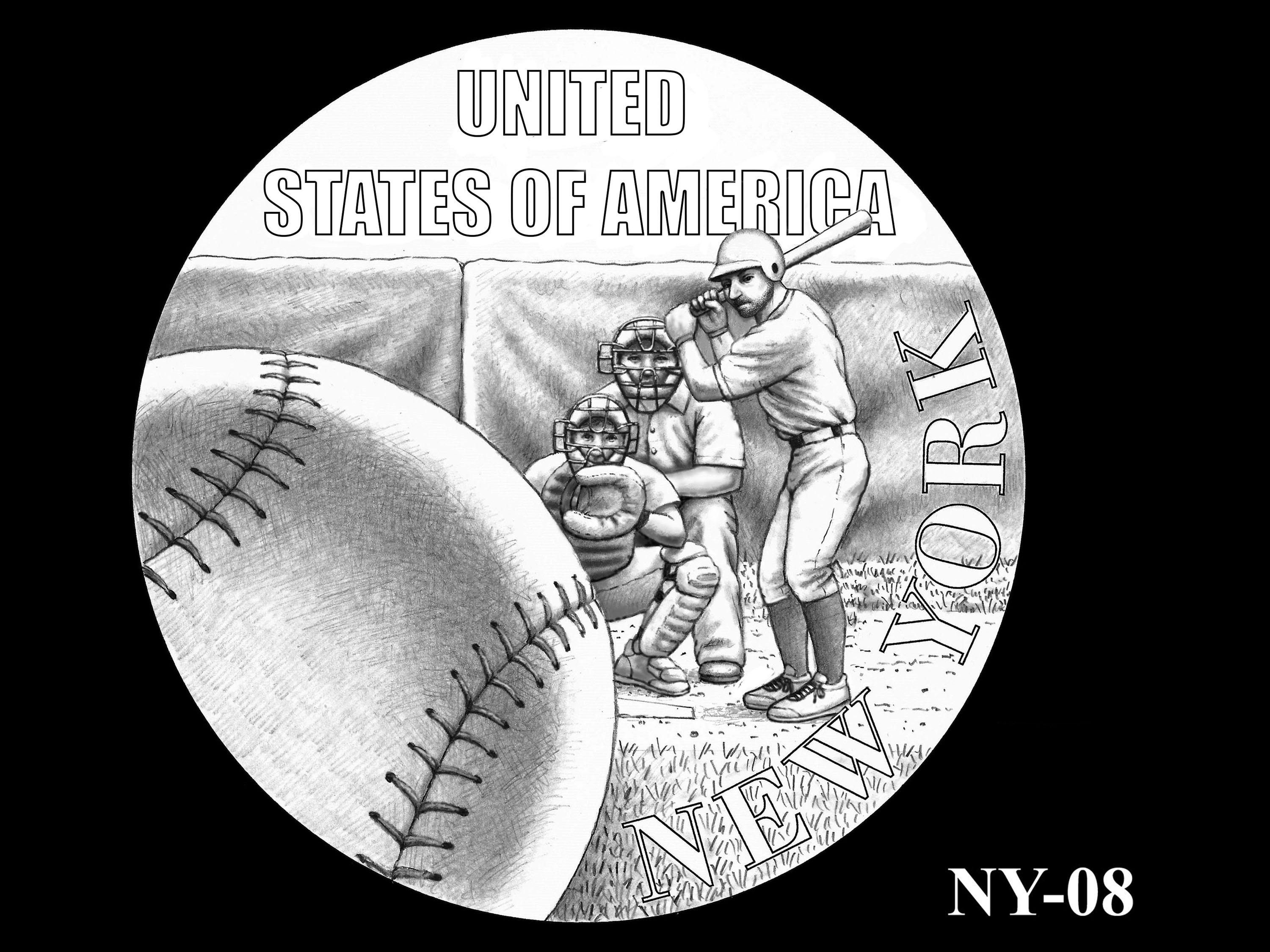 NY-08 -- 2021 American Innovation $1 Coin - New York