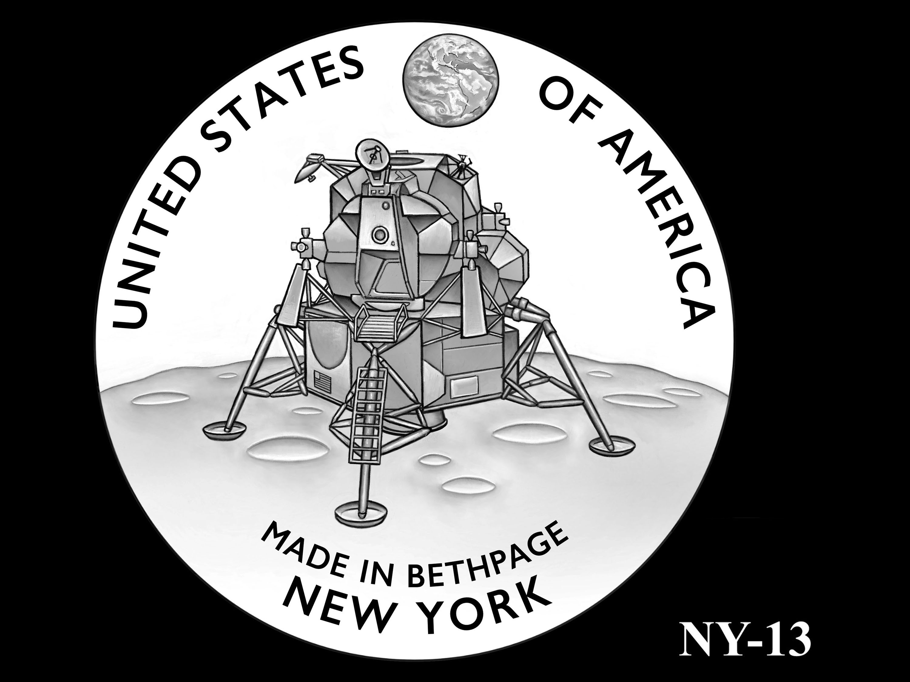 NY-13 -- 2021 American Innovation $1 Coin - New York