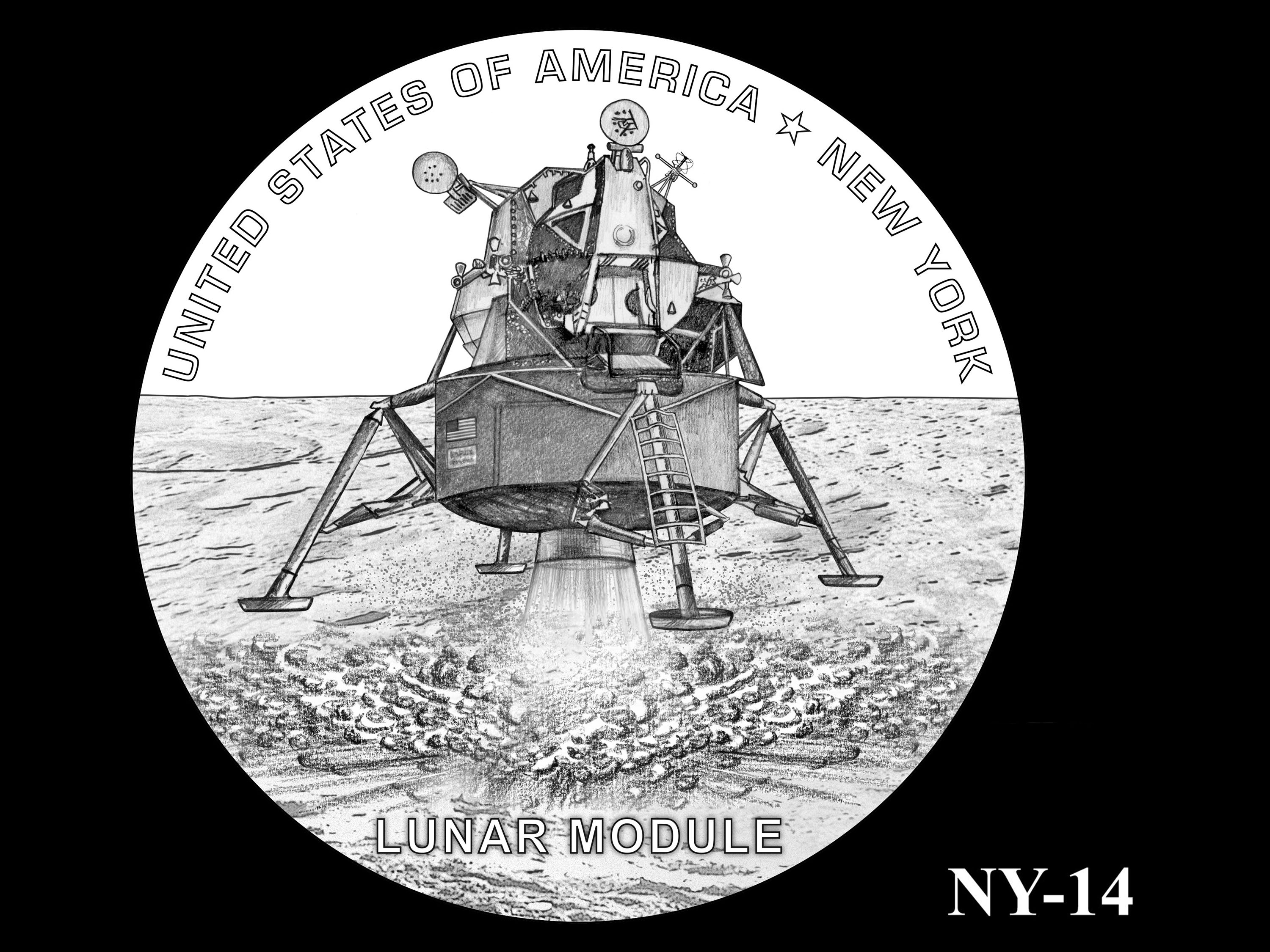 NY-14 -- 2021 American Innovation $1 Coin - New York