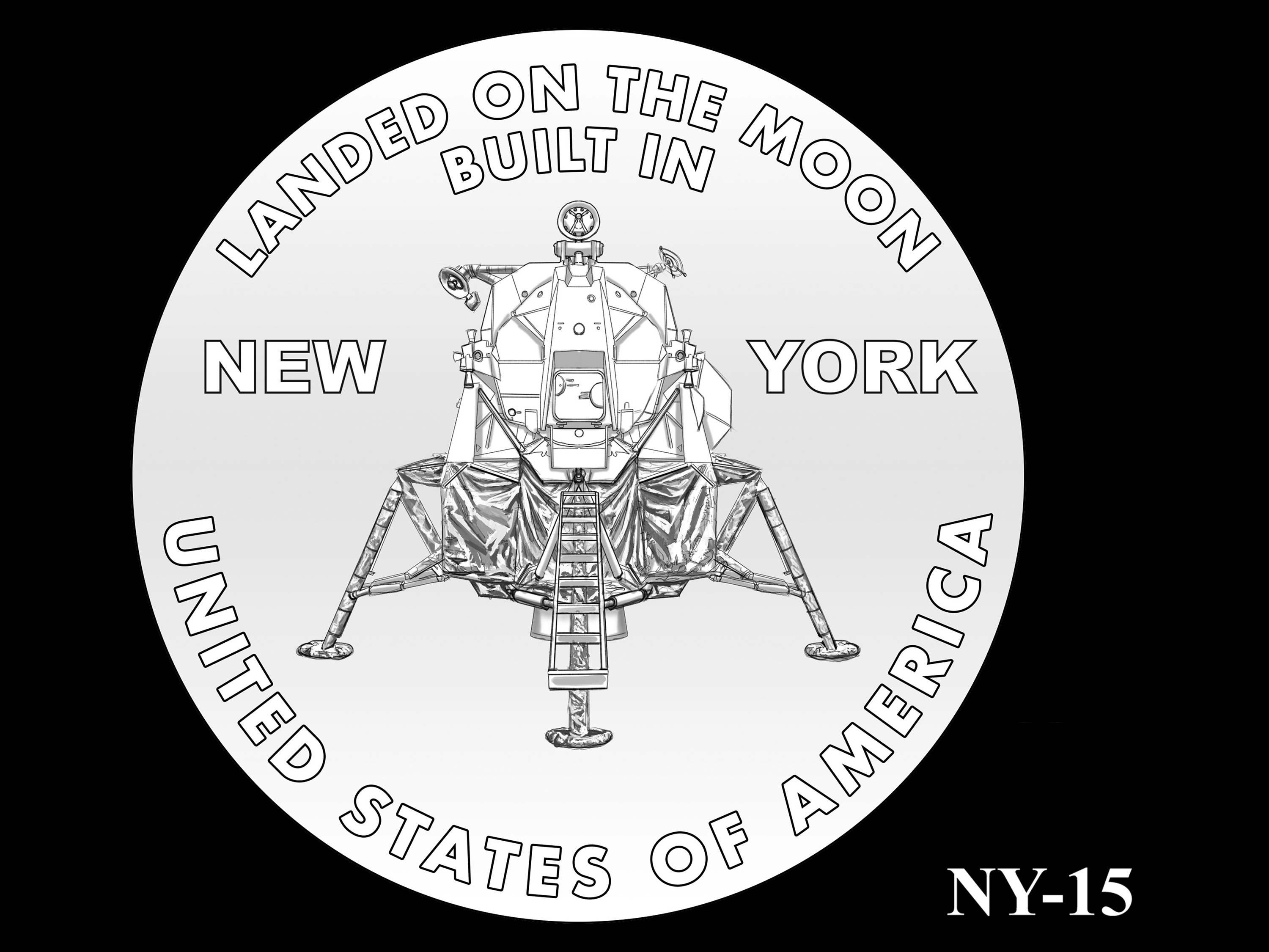 NY-15 -- 2021 American Innovation $1 Coin - New York