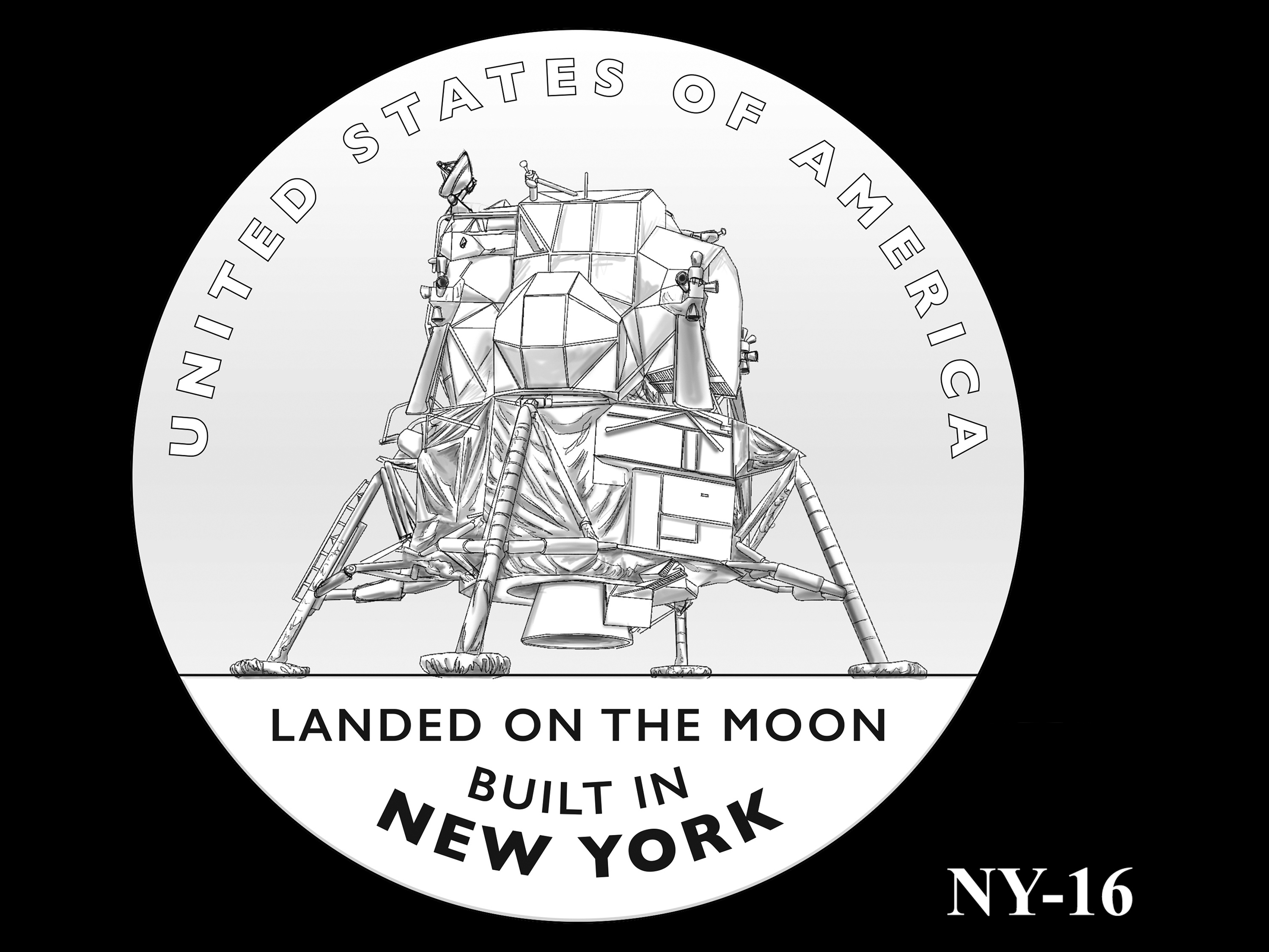 NY-16 -- 2021 American Innovation $1 Coin - New York
