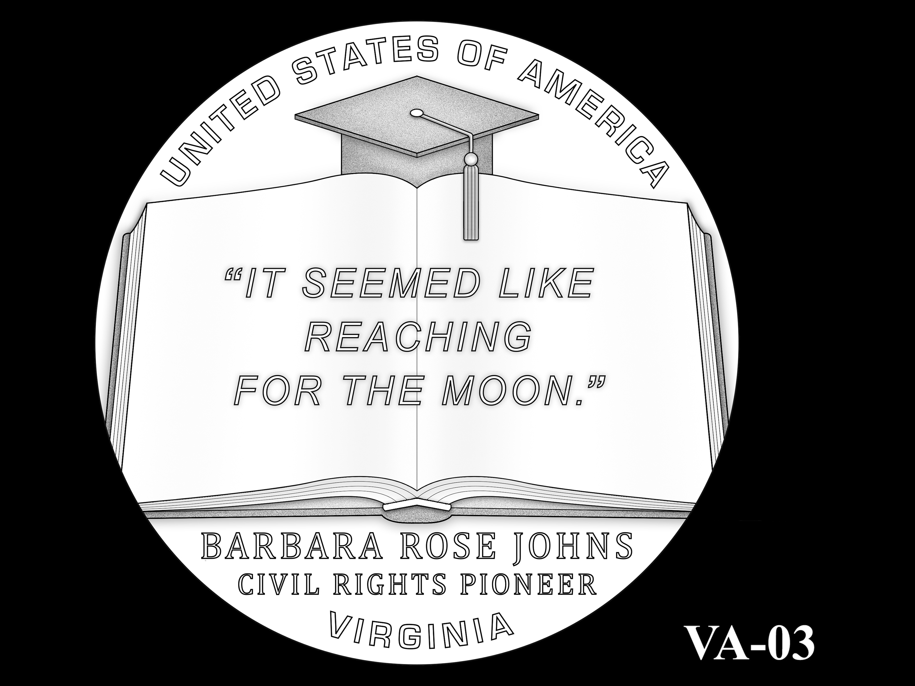 VA-03 -- 2021 American Innovation $1 Coin - Virginia