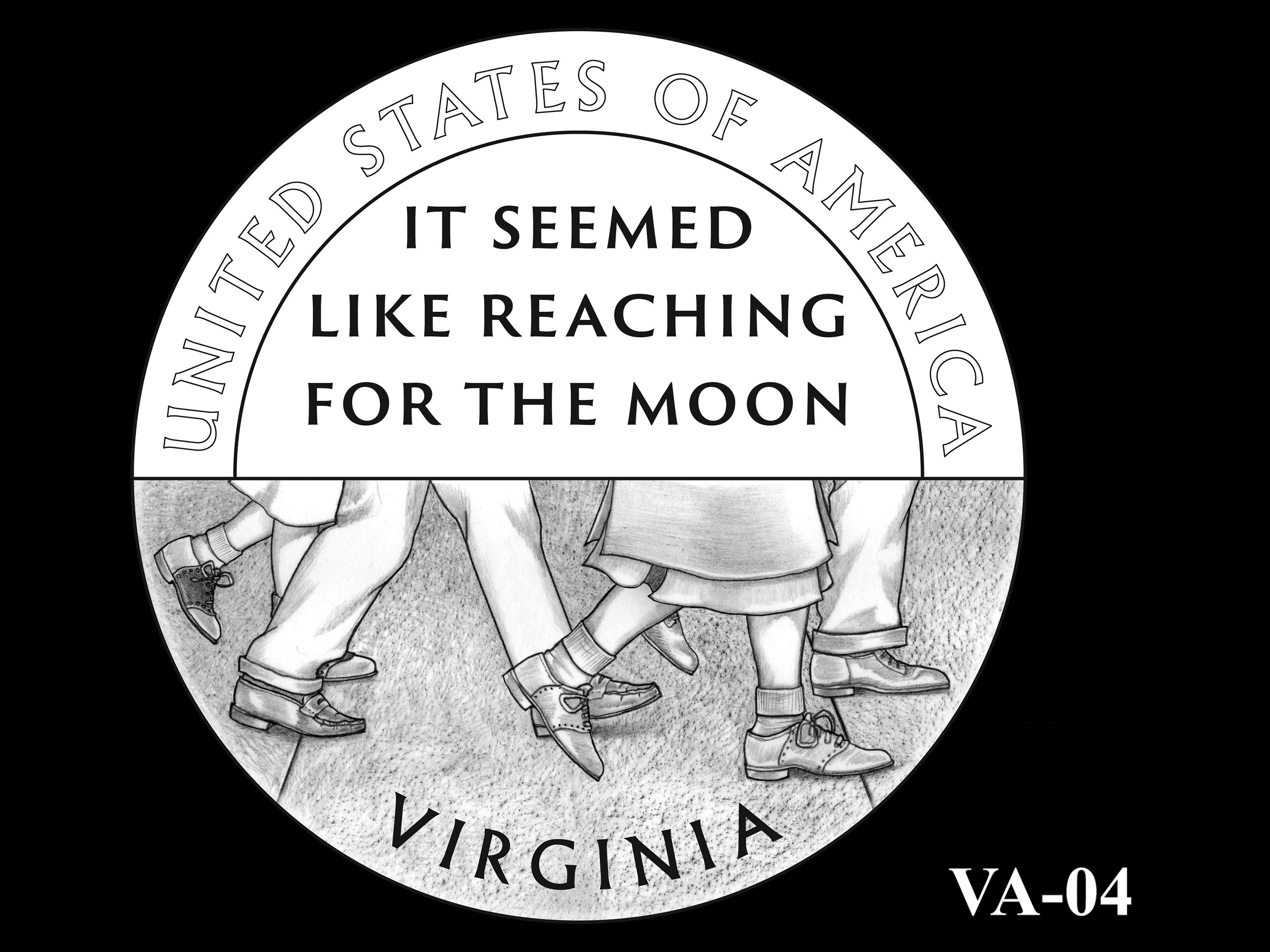 VA-04 -- 2021 American Innovation $1 Coin - Virginia