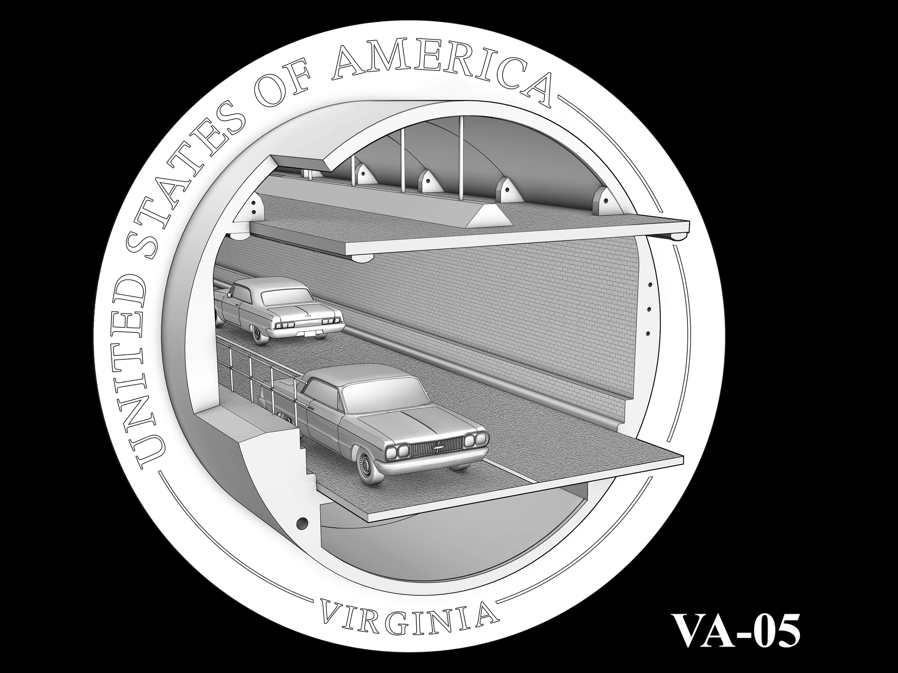 VA-05 -- 2021 American Innovation $1 Coin - Virginia