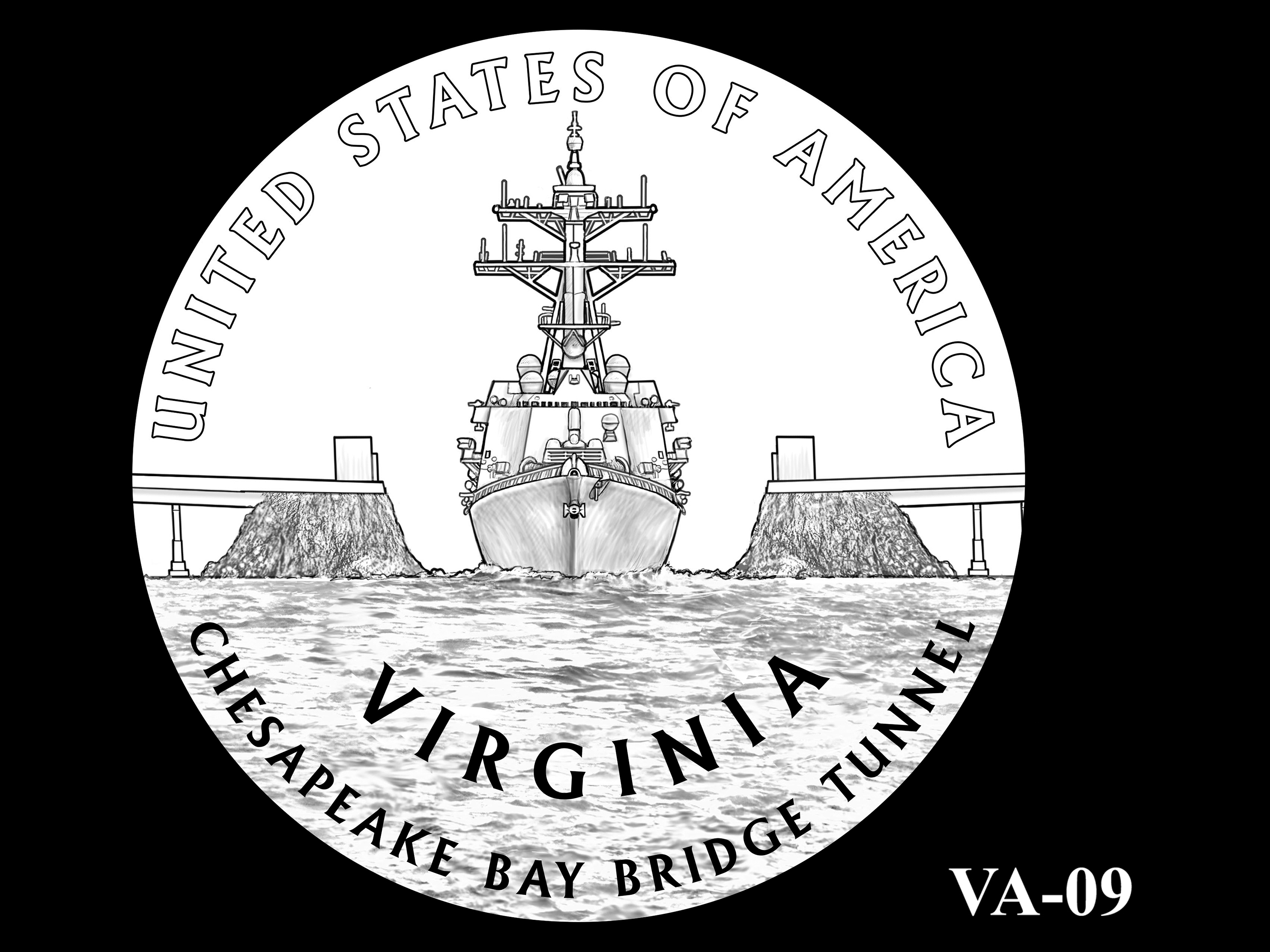 VA-09 -- 2021 American Innovation $1 Coin - Virginia