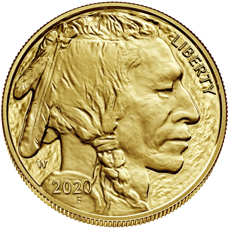 2020 American Buffalo One Ounce Gold Proof Coin Obverse
