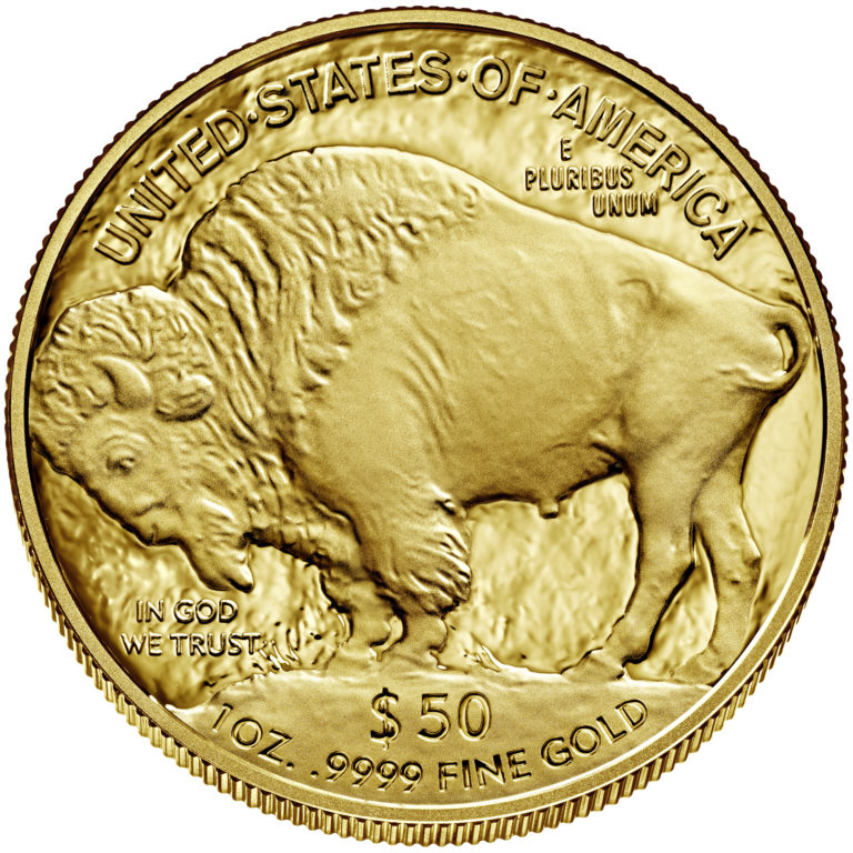 2020 American Buffalo One Ounce Gold Proof Coin Reverse