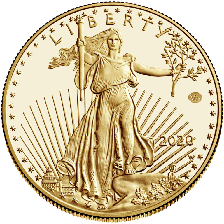 American Eagle Gold Obverse