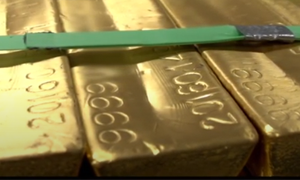 Homepage About feature West Point gold bars