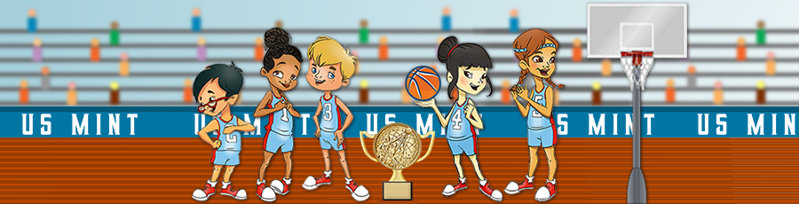 Kids homepage Math Jam basketball game hero