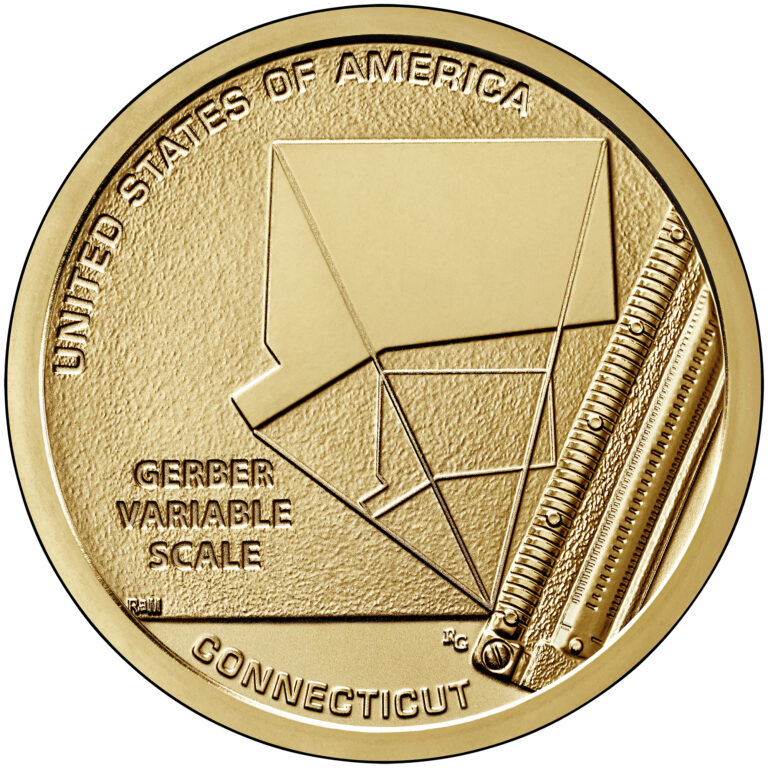 2020 American Innovation One Dollar Coin Connecticut Reverse Proof Reverse