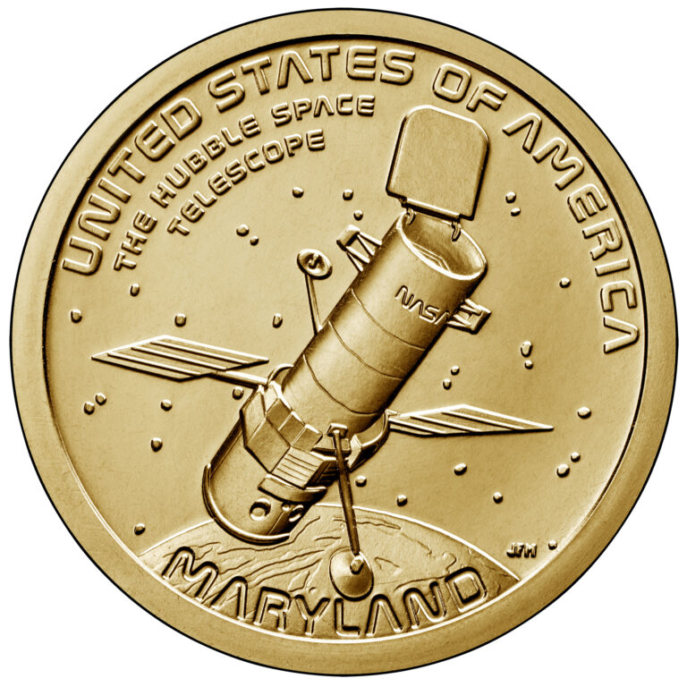 2020 American Innovation One Dollar Coin Maryland Uncirculated Reverse
