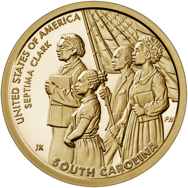 2020 American Innovation One Dollar Coin South Carolina Proof Reverse