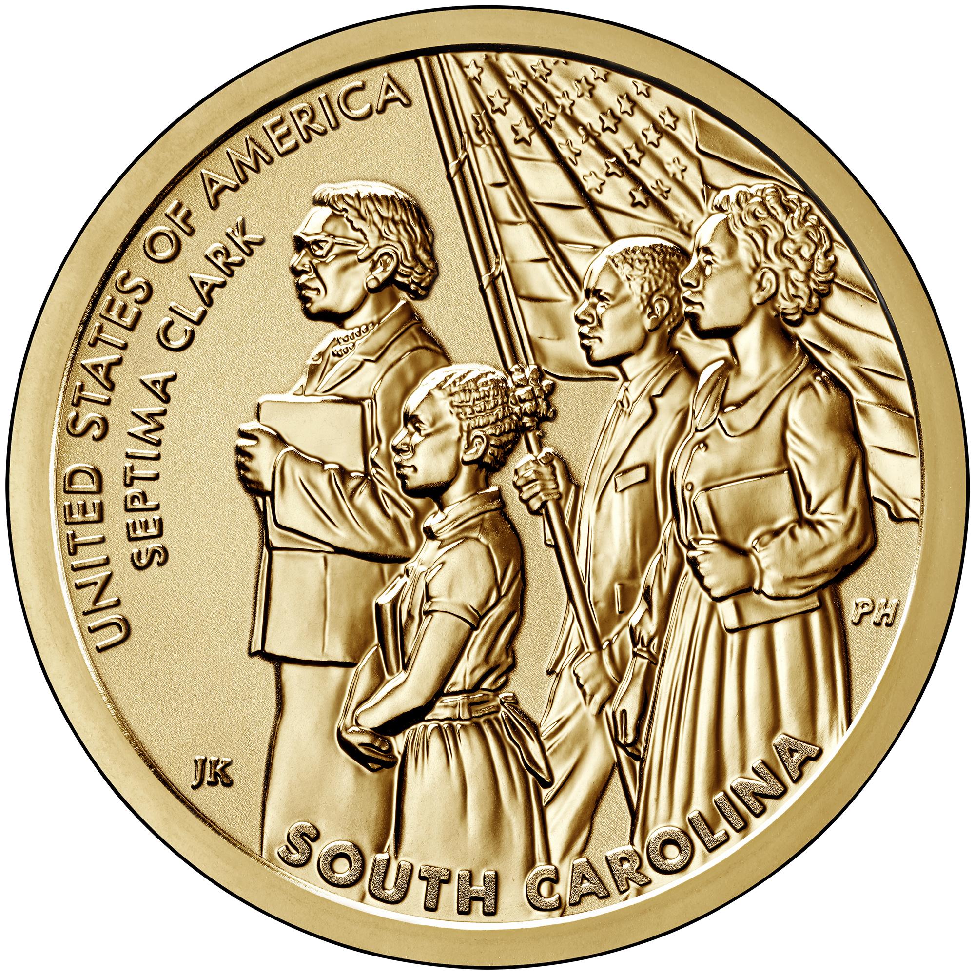 2020 American Innovation One Dollar Coin South Carolina Reverse Proof Reverse