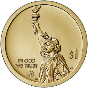 2020 American Innovation One Dollar Coin Uncirculated Obverse