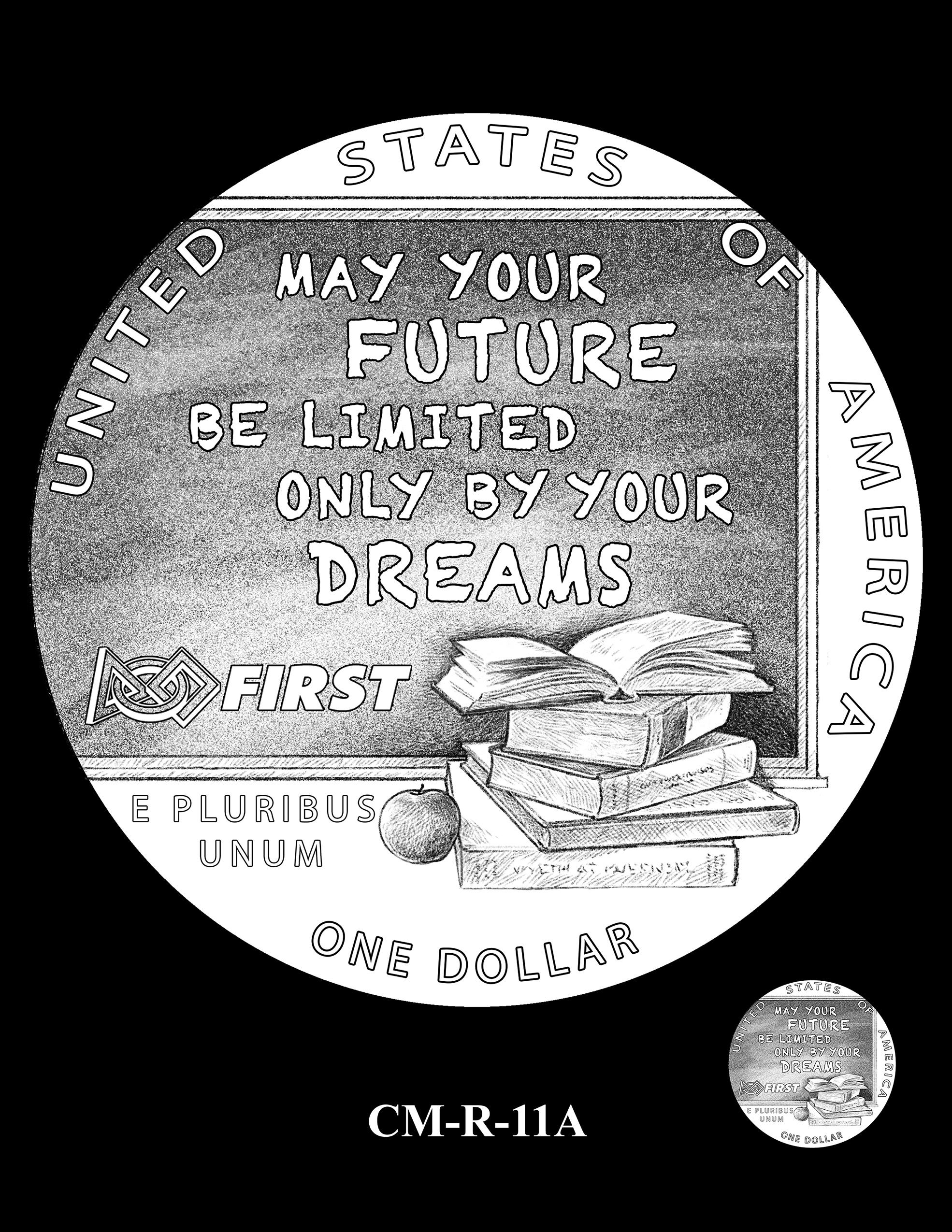 CM-R-11A -- 2021 Christa McAuliffe Commemorative Coin