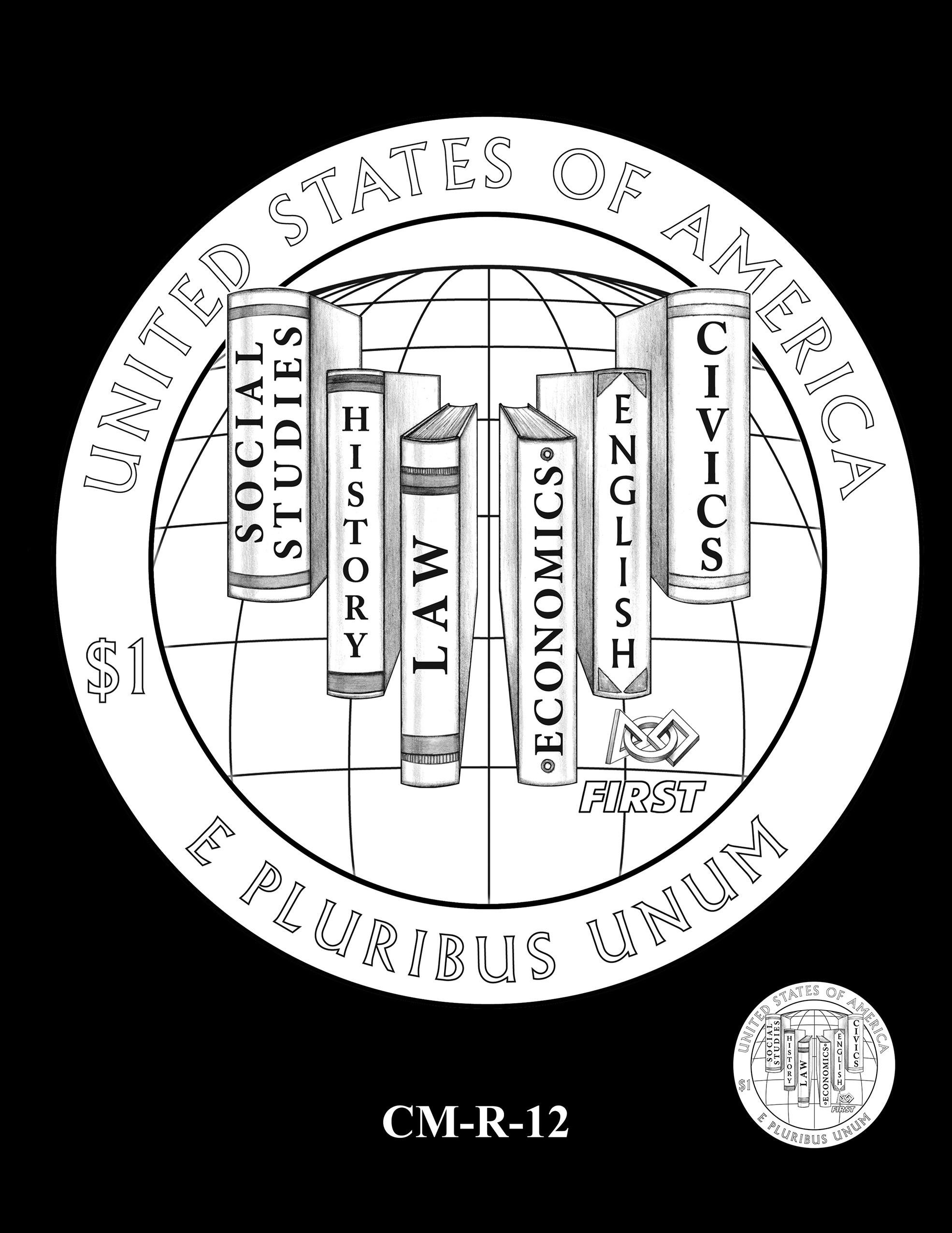 CM-R-12 -- 2021 Christa McAuliffe Commemorative Coin
