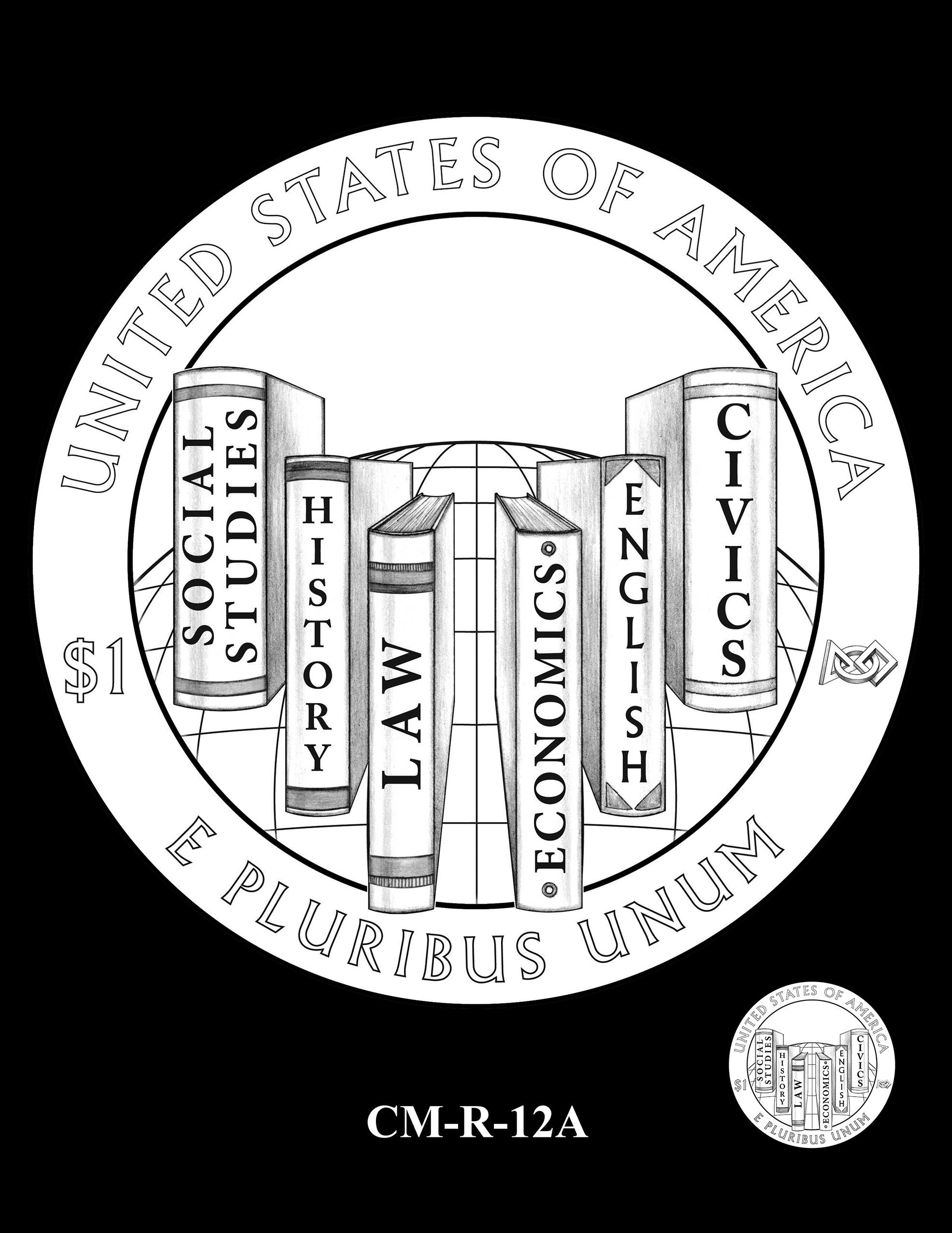 CM-R-12A -- 2021 Christa McAuliffe Commemorative Coin