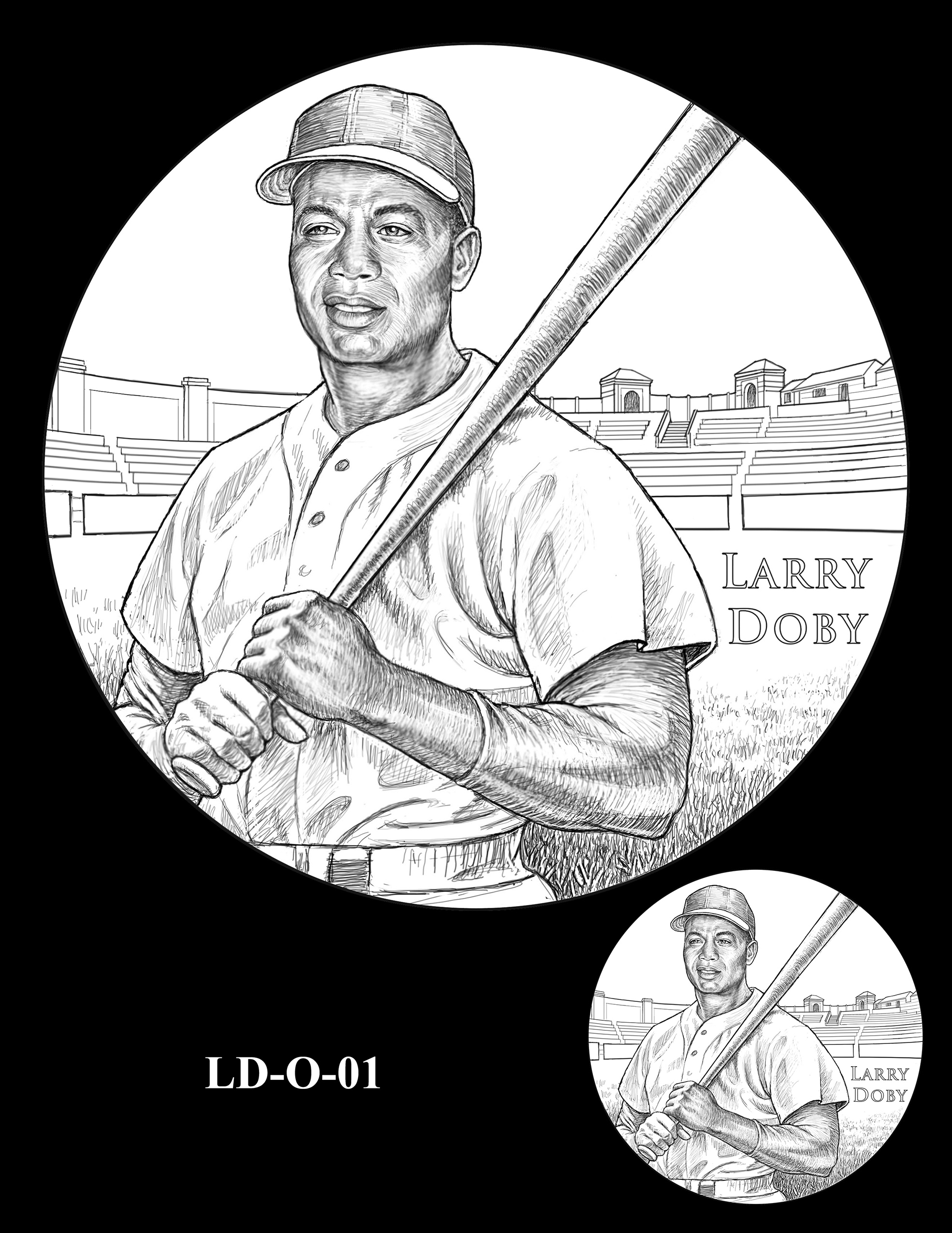 LD-O-01 -- Larry Doby Congressional Gold Medal