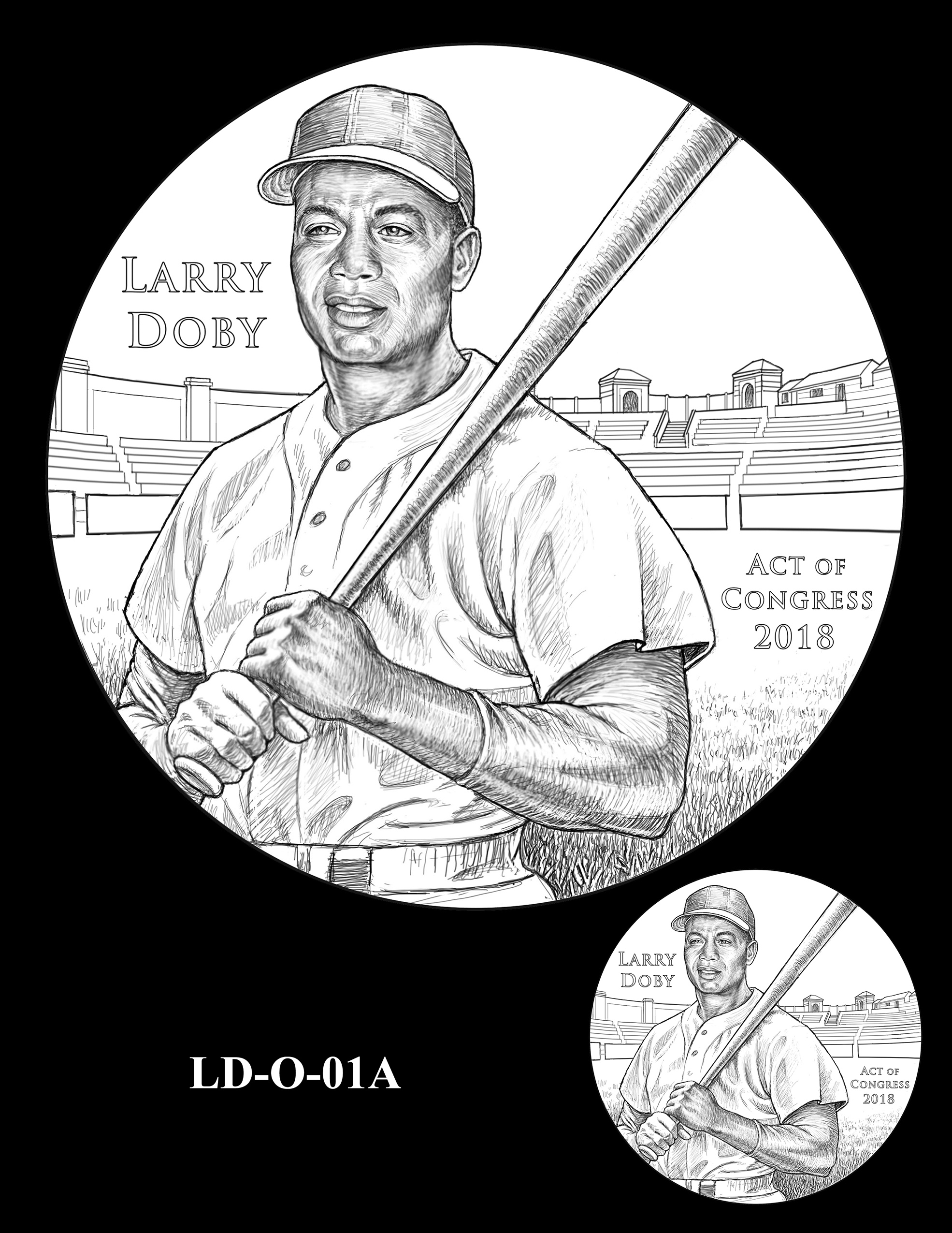 LD-O-01A -- Larry Doby Congressional Gold Medal
