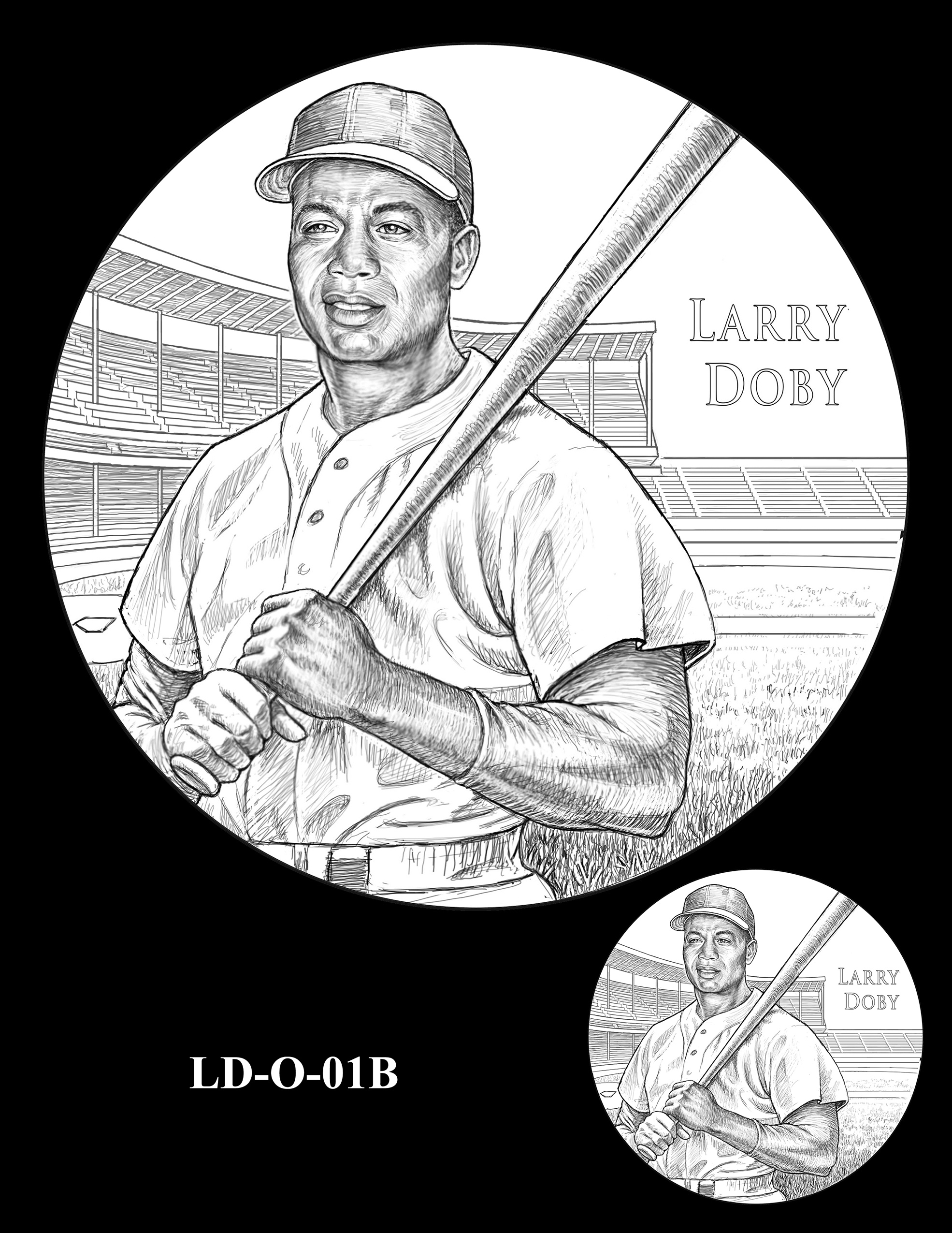 LD-O-01B -- Larry Doby Congressional Gold Medal