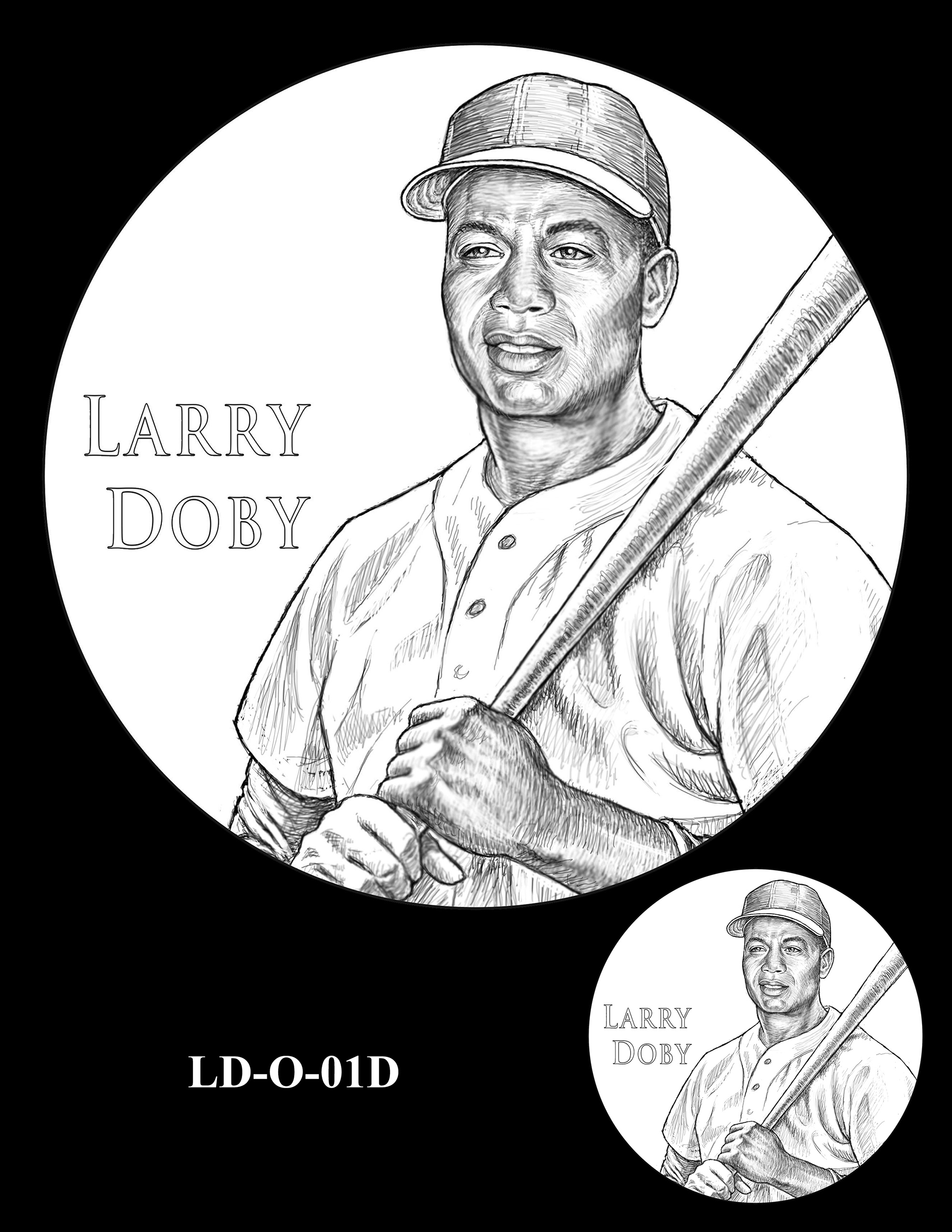 LD-O-01D -- Larry Doby Congressional Gold Medal