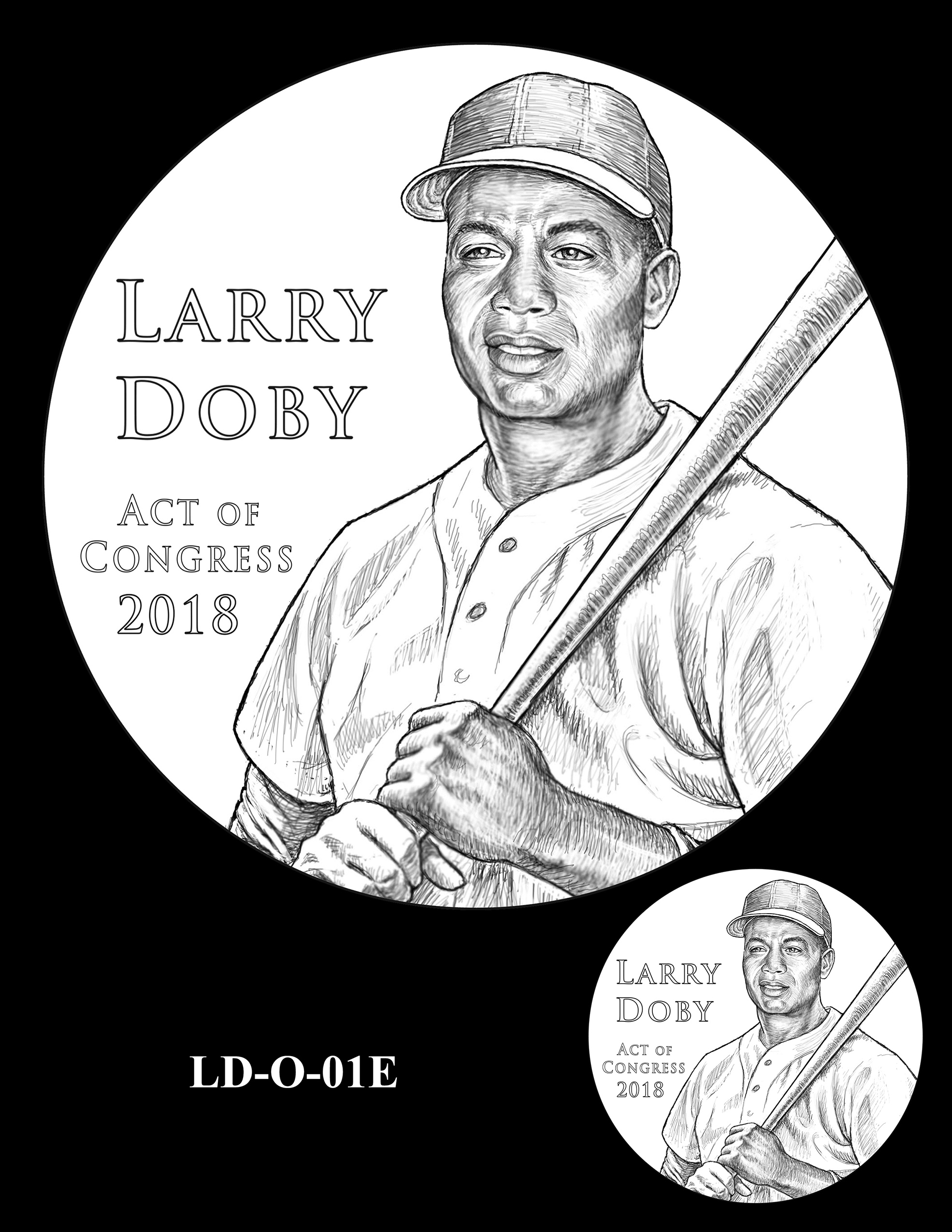 LD-O-01E -- Larry Doby Congressional Gold Medal