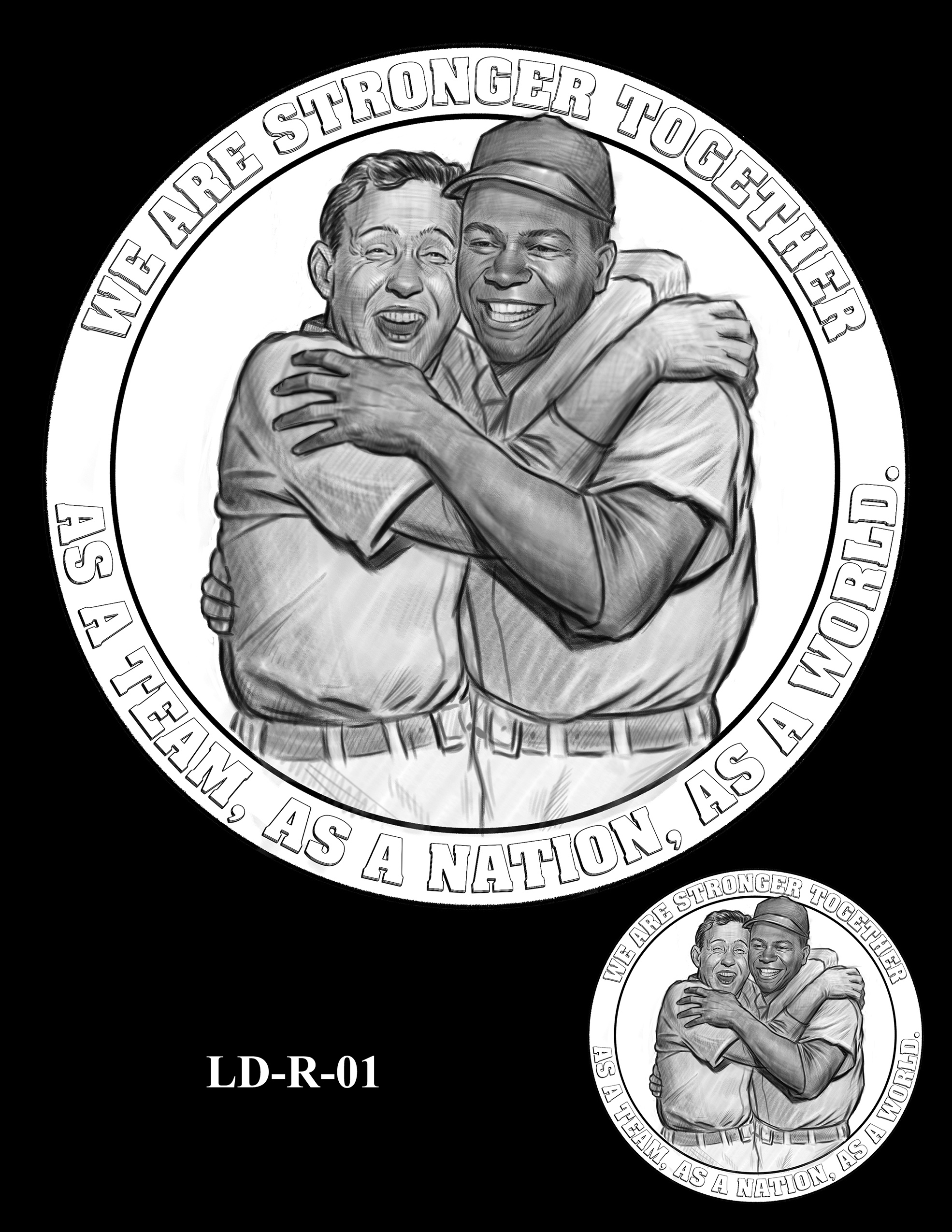 LD-R-01 -- Larry Doby Congressional Gold Medal