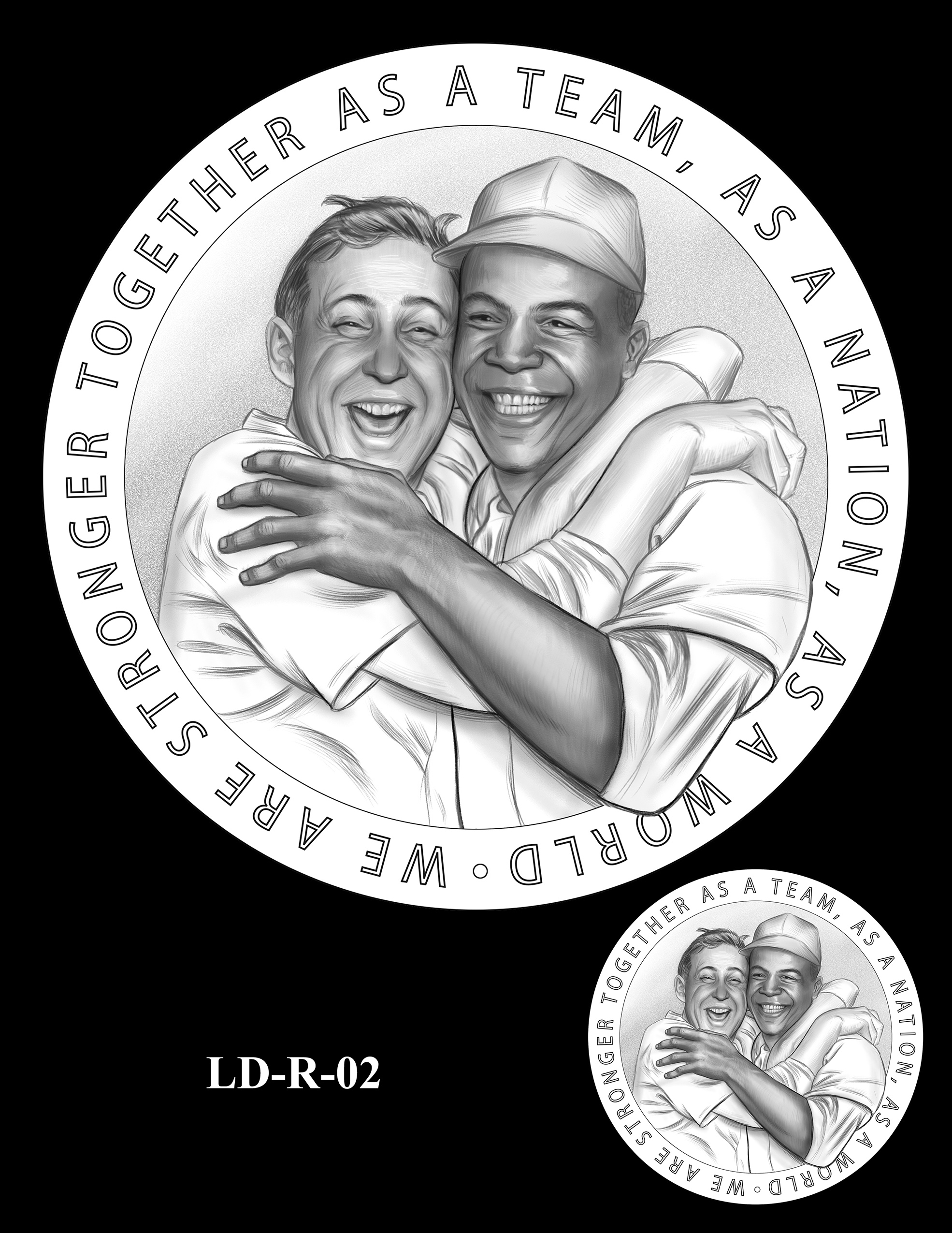 LD-R-02 -- Larry Doby Congressional Gold Medal