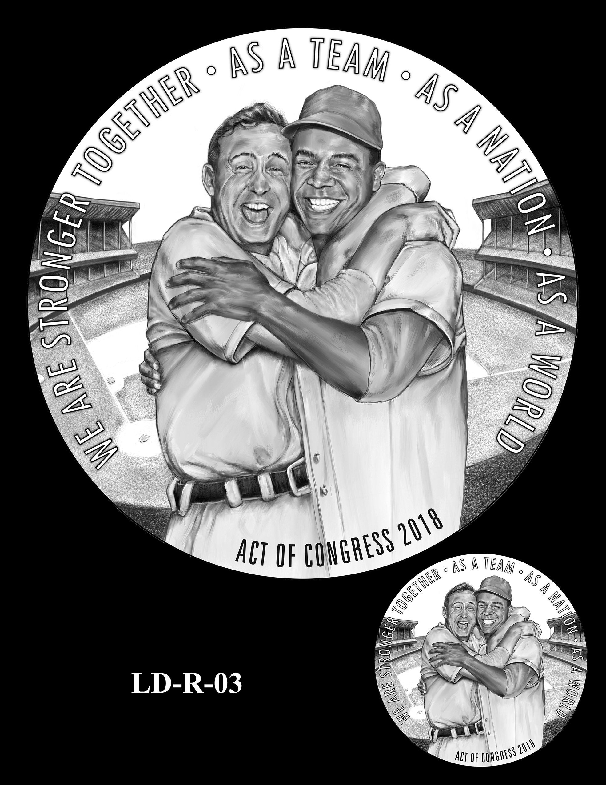 LD-R-03 -- Larry Doby Congressional Gold Medal