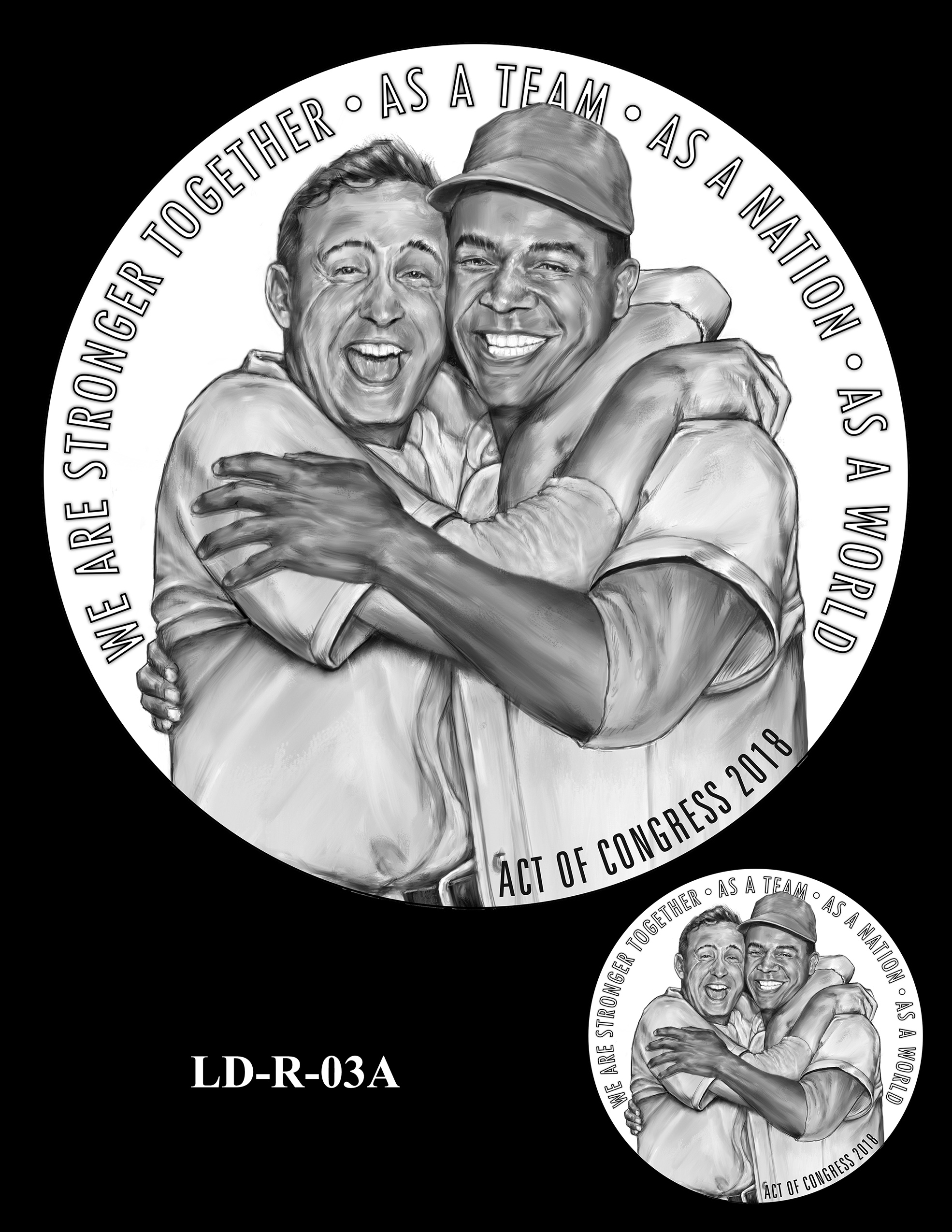 LD-R-03A -- Larry Doby Congressional Gold Medal