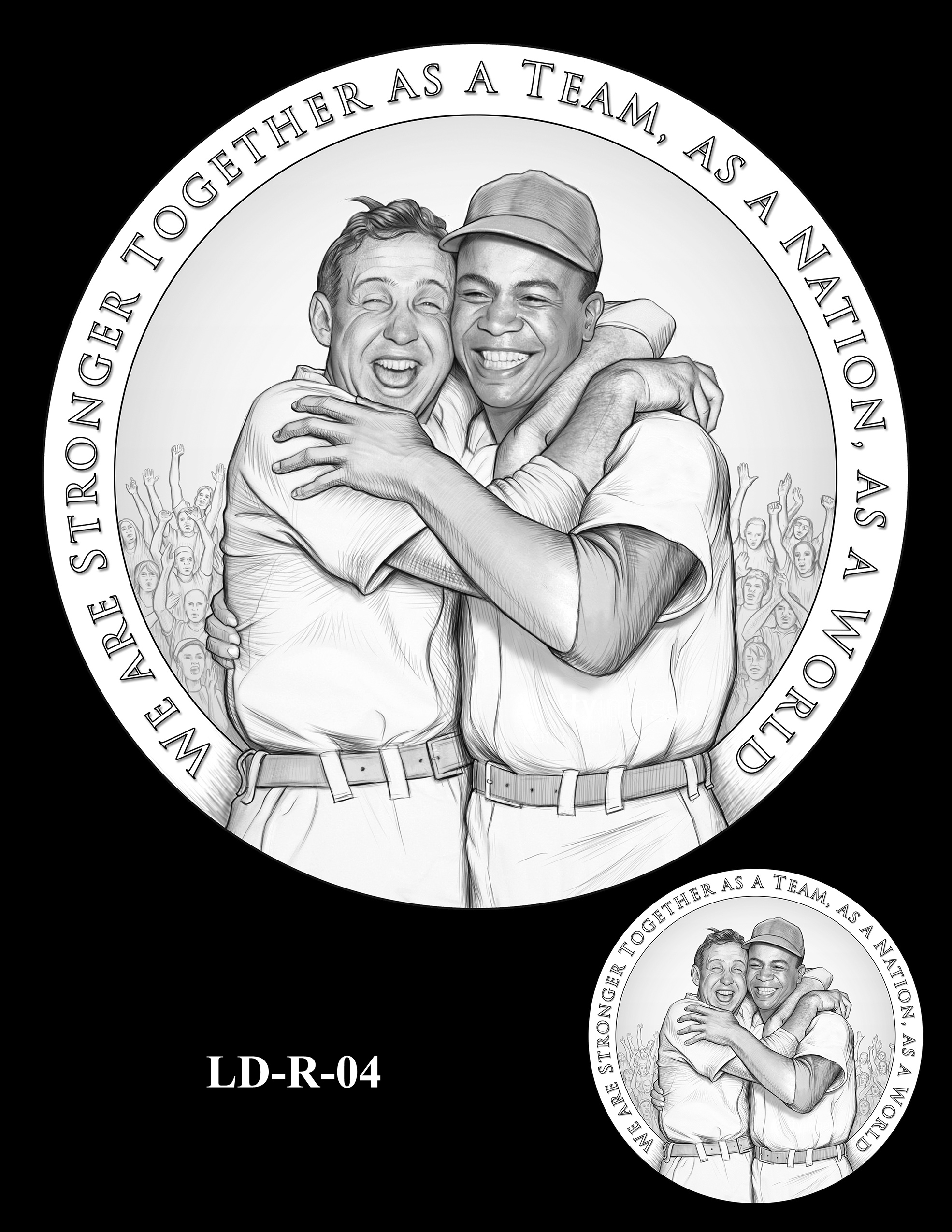 LD-R-04 -- Larry Doby Congressional Gold Medal