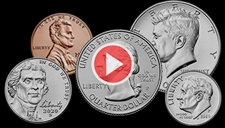 How circulating coins are made video Learn feature with 2020 coins
