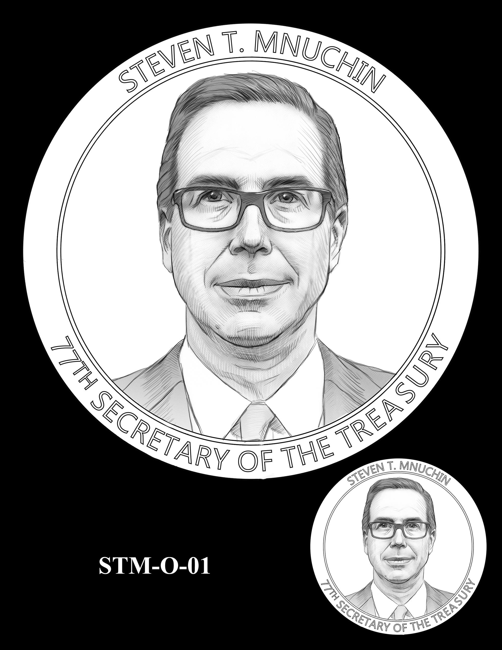 STM-O-01 -- Steven T. Mnuchin Secretary of the Treasury Medal