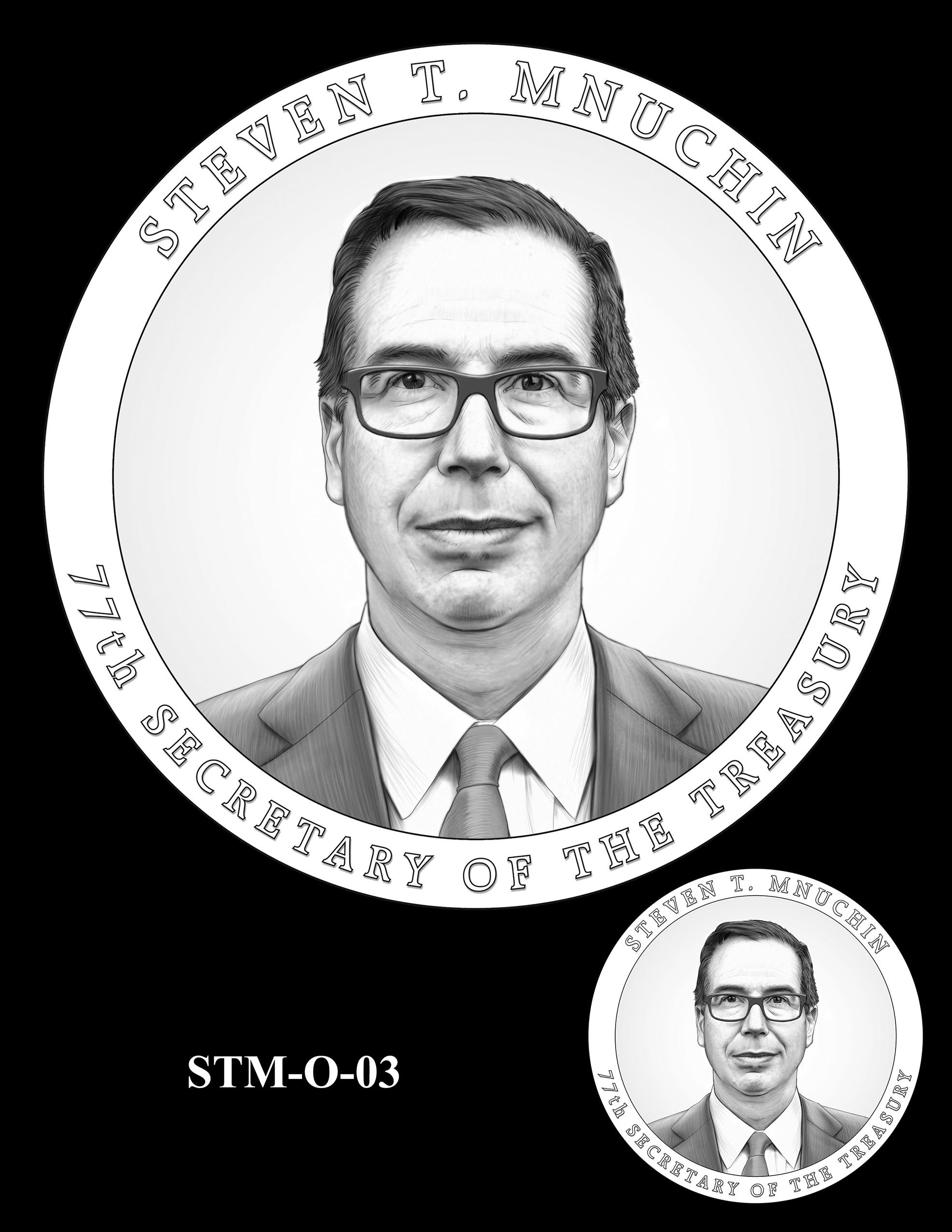 STM-O-03 -- Steven T. Mnuchin Secretary of the Treasury Medal