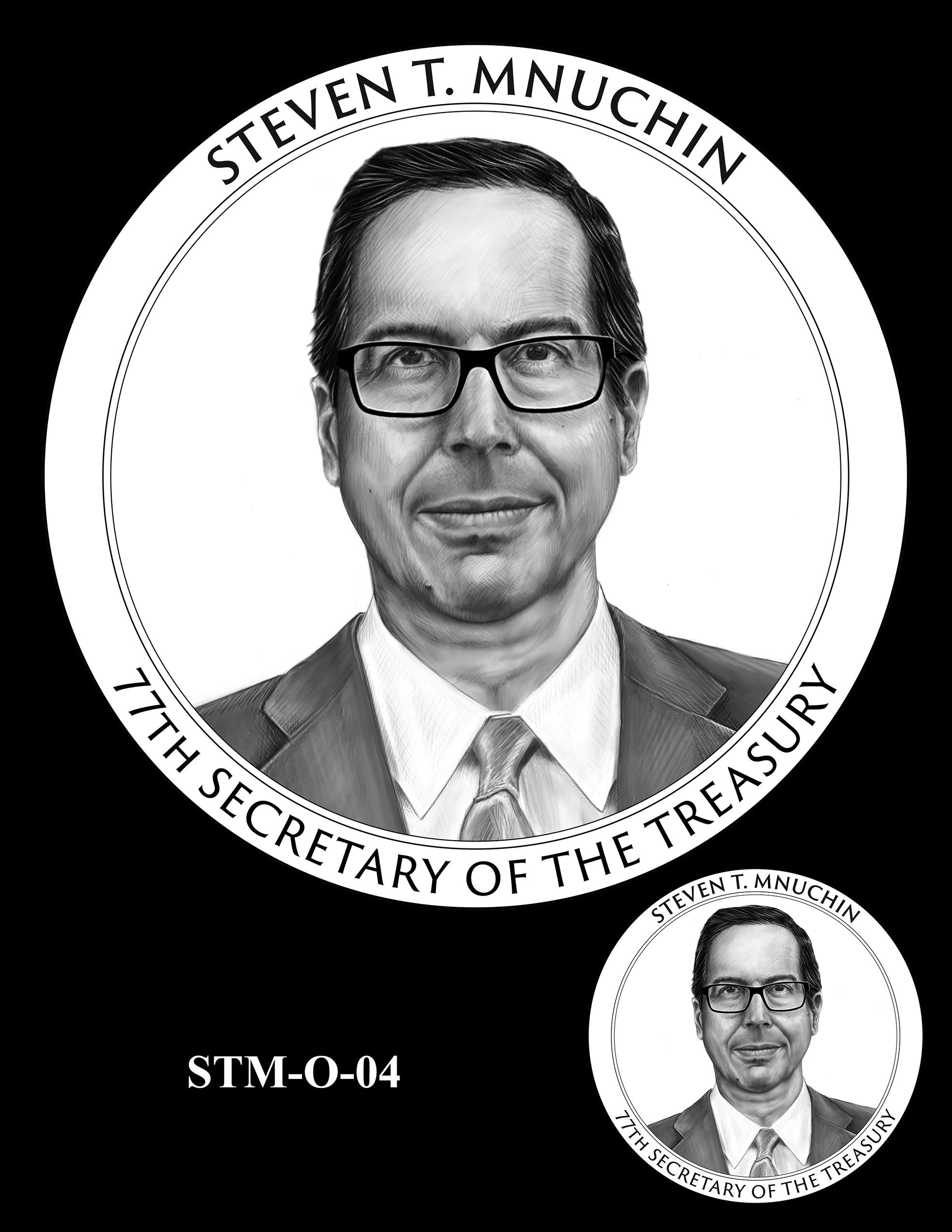 STM-O-04 -- Steven T. Mnuchin Secretary of the Treasury Medal