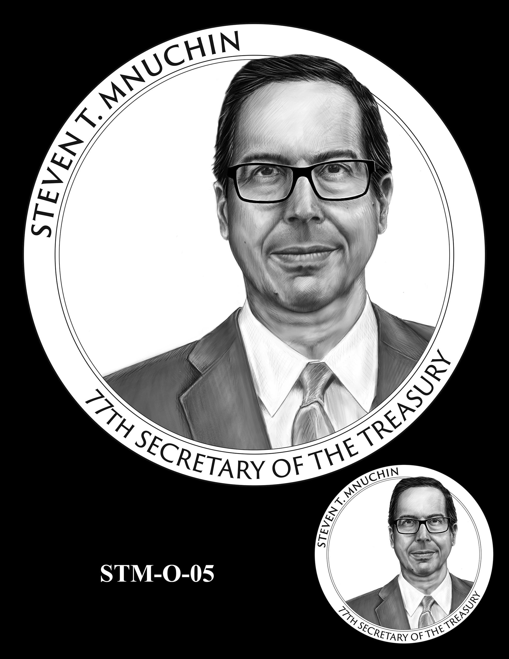 STM-O-05 -- Steven T. Mnuchin Secretary of the Treasury Medal