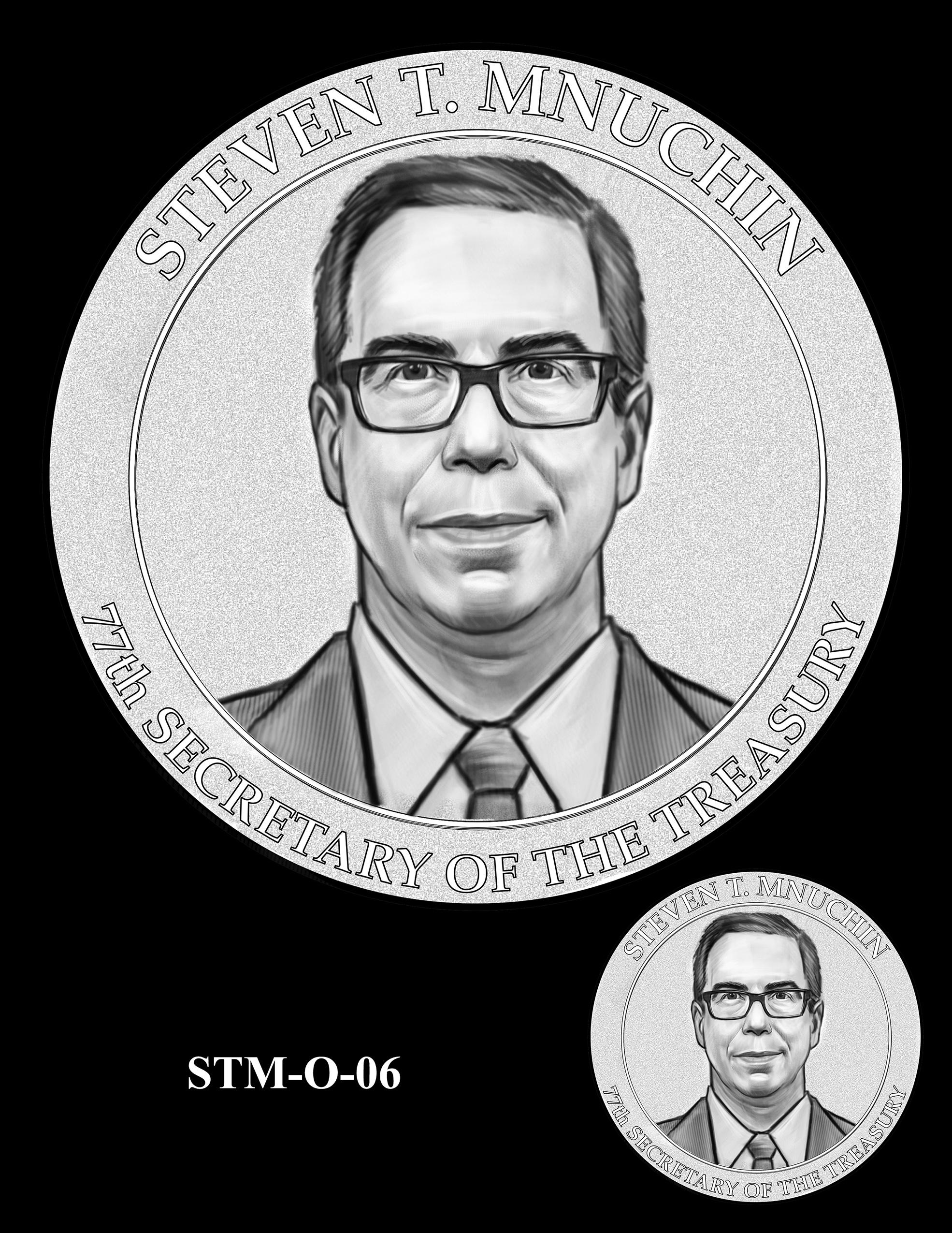 STM-O-06 -- Steven T. Mnuchin Secretary of the Treasury Medal