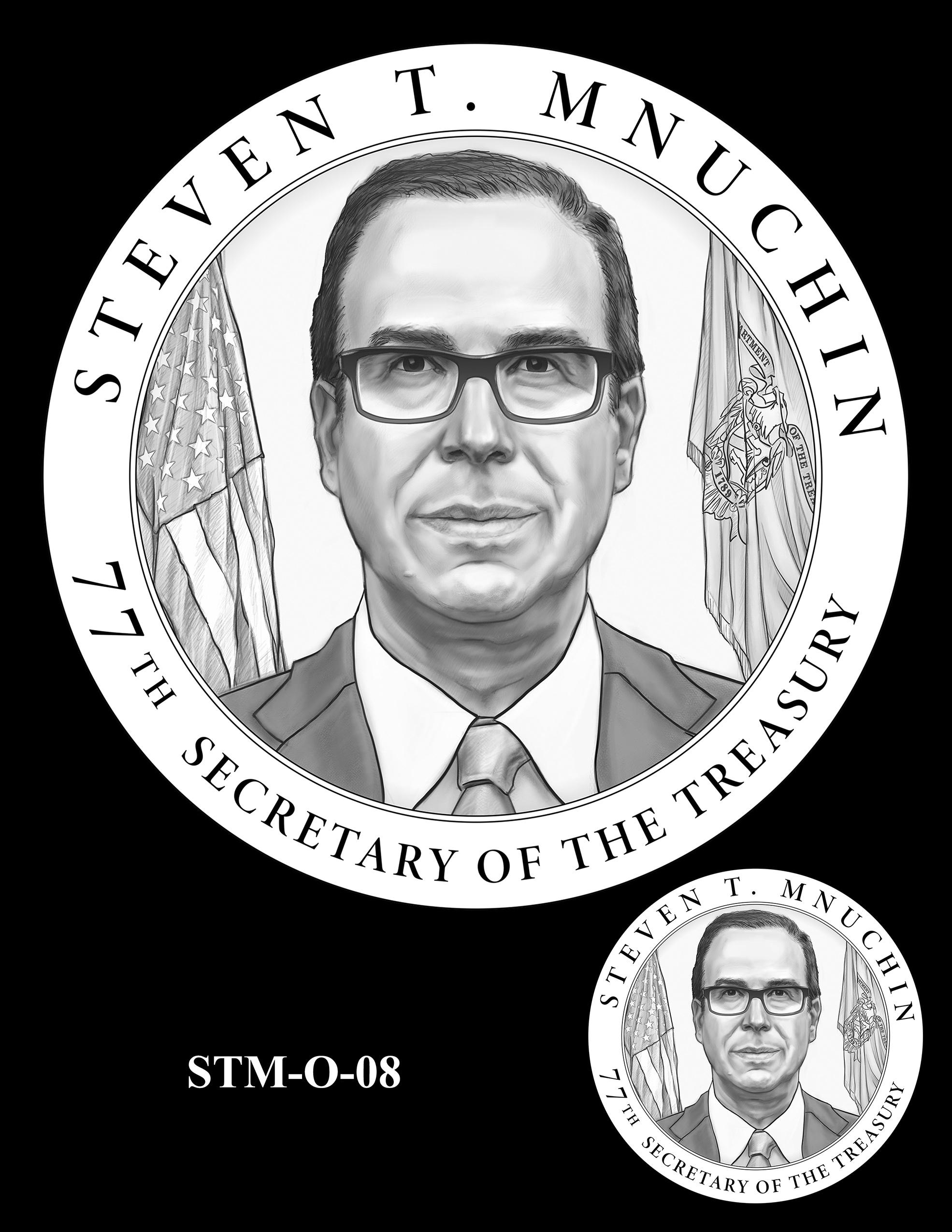 STM-O-08 -- Steven T. Mnuchin Secretary of the Treasury Medal