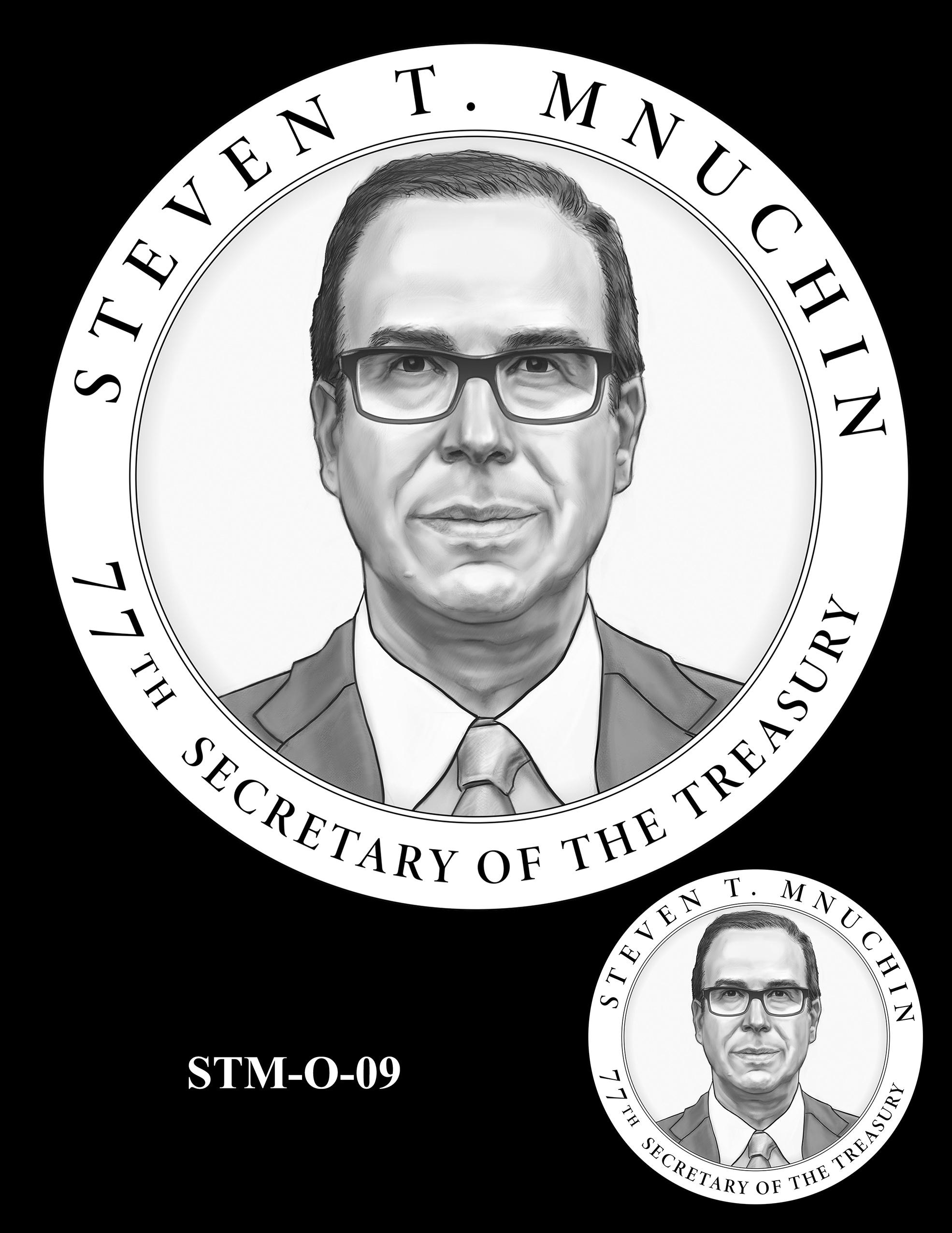 STM-O-09 -- Steven T. Mnuchin Secretary of the Treasury Medal