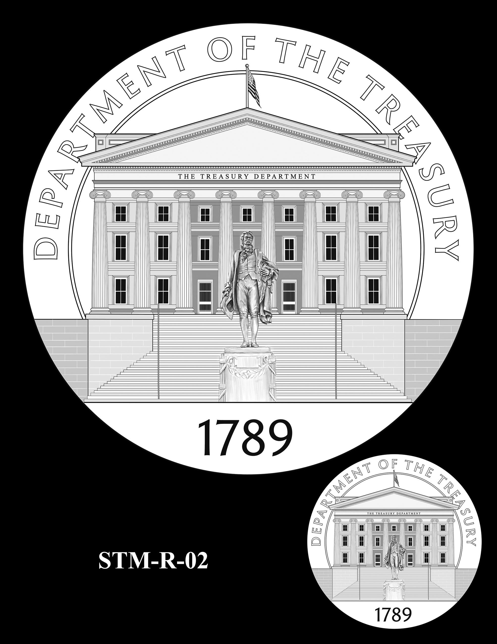 STM-R-02 -- Steven T. Mnuchin Secretary of the Treasury Medal
