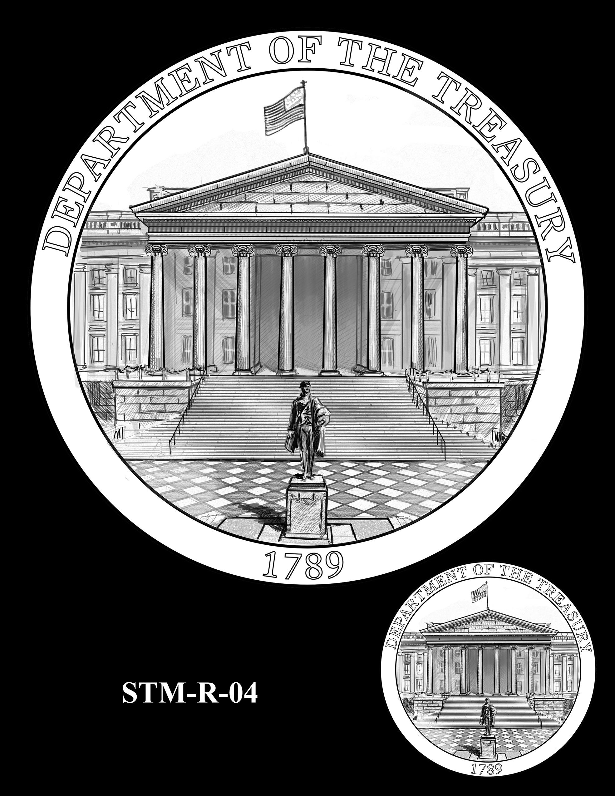 STM-R-04 -- Steven T. Mnuchin Secretary of the Treasury Medal