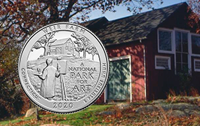 2020 Weir Farm reverse with barn background News feature