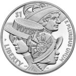 2020 Women's Suffrage Centennial Commemorative Silver Dollar Proof Obverse