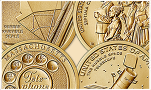 American Innovation $1 Coin 2020 reverse designs