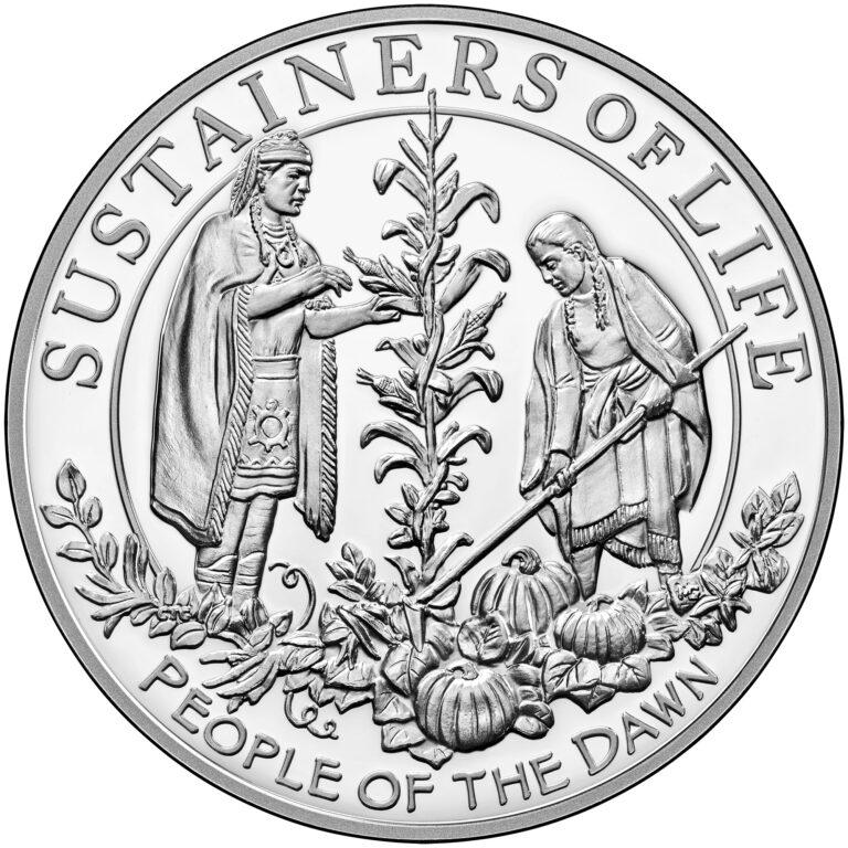 U.S. Silver Medal Reverse